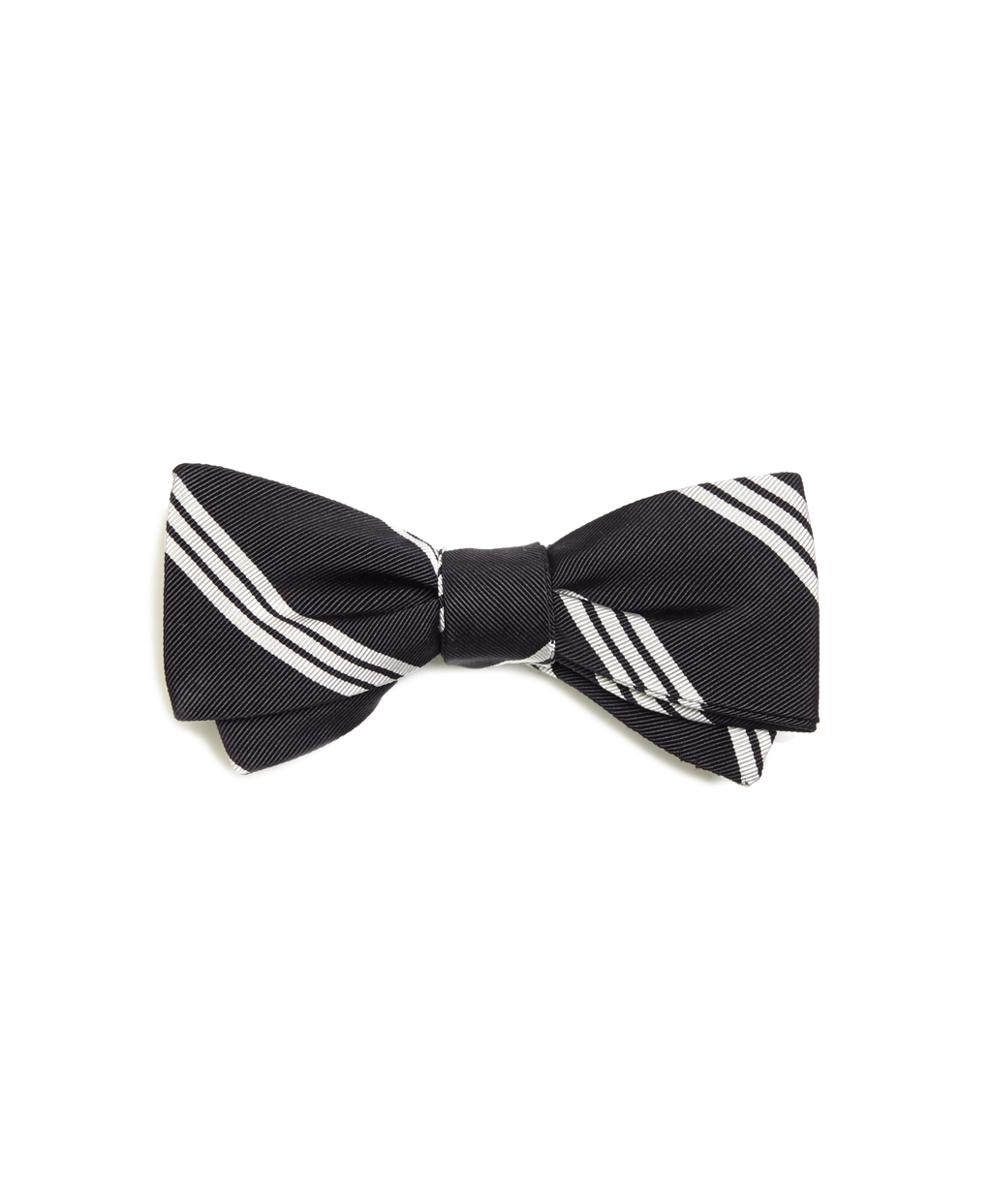 Lyst - Brooks brothers Bb#10 Stripe Bow Tie in Blue for Men