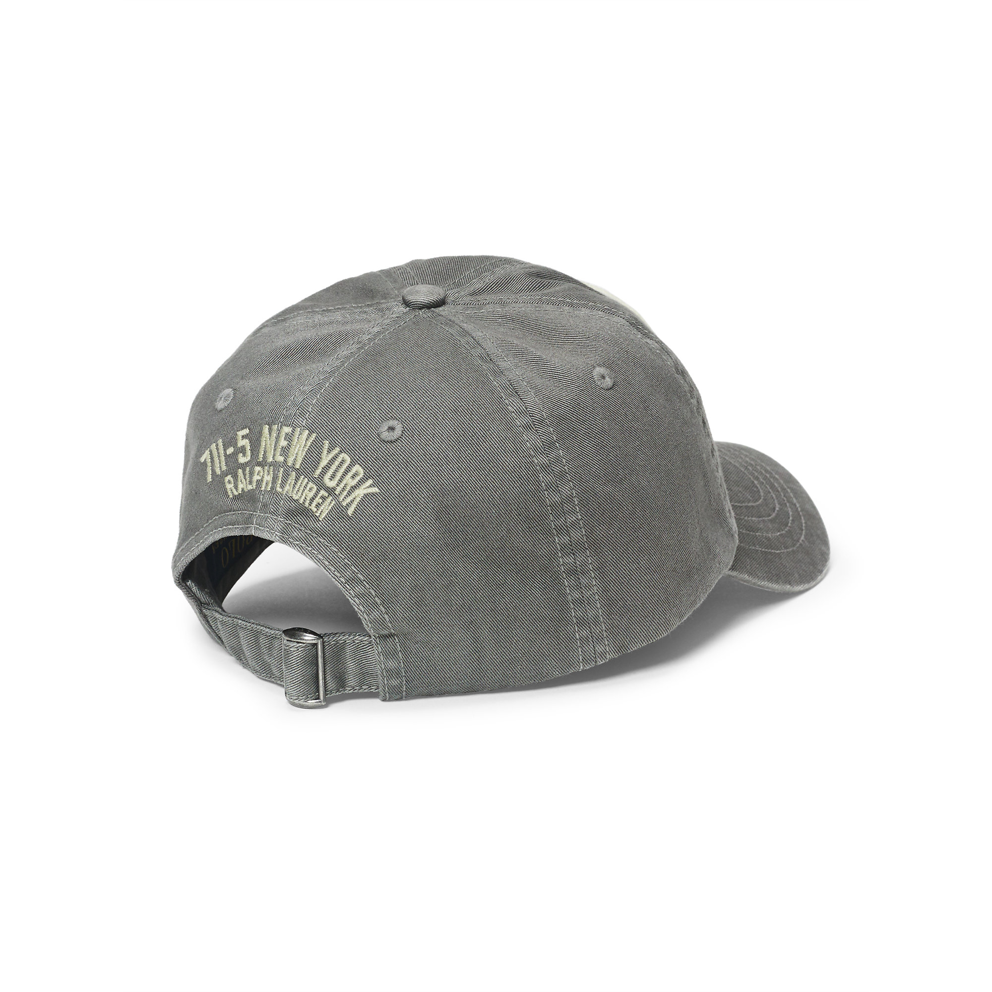 08725838be4ec Lyst - Polo Ralph Lauren Patch Chino Baseball Cap in Gray for Men