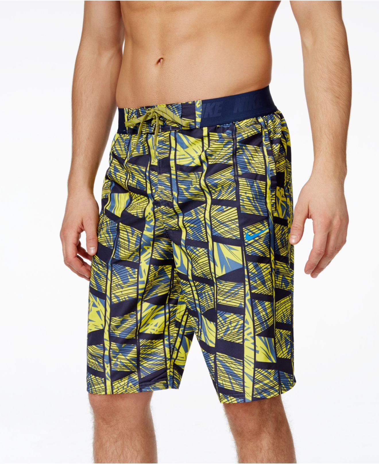 "Lyst - Nike Men's Atlas 11"" Volley Shorts for Men"