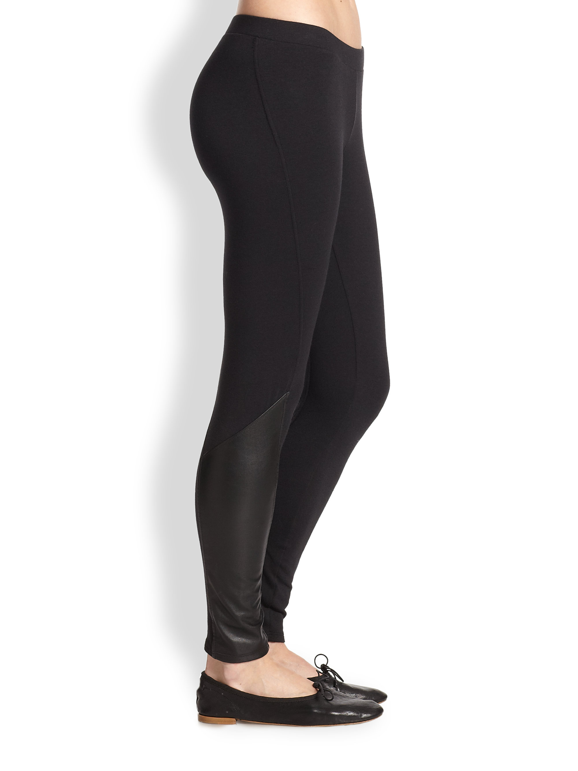 6437c0db75ace9 Gallery. Previously sold at: Saks Fifth Avenue · Women's Faux Leather Pants  ...