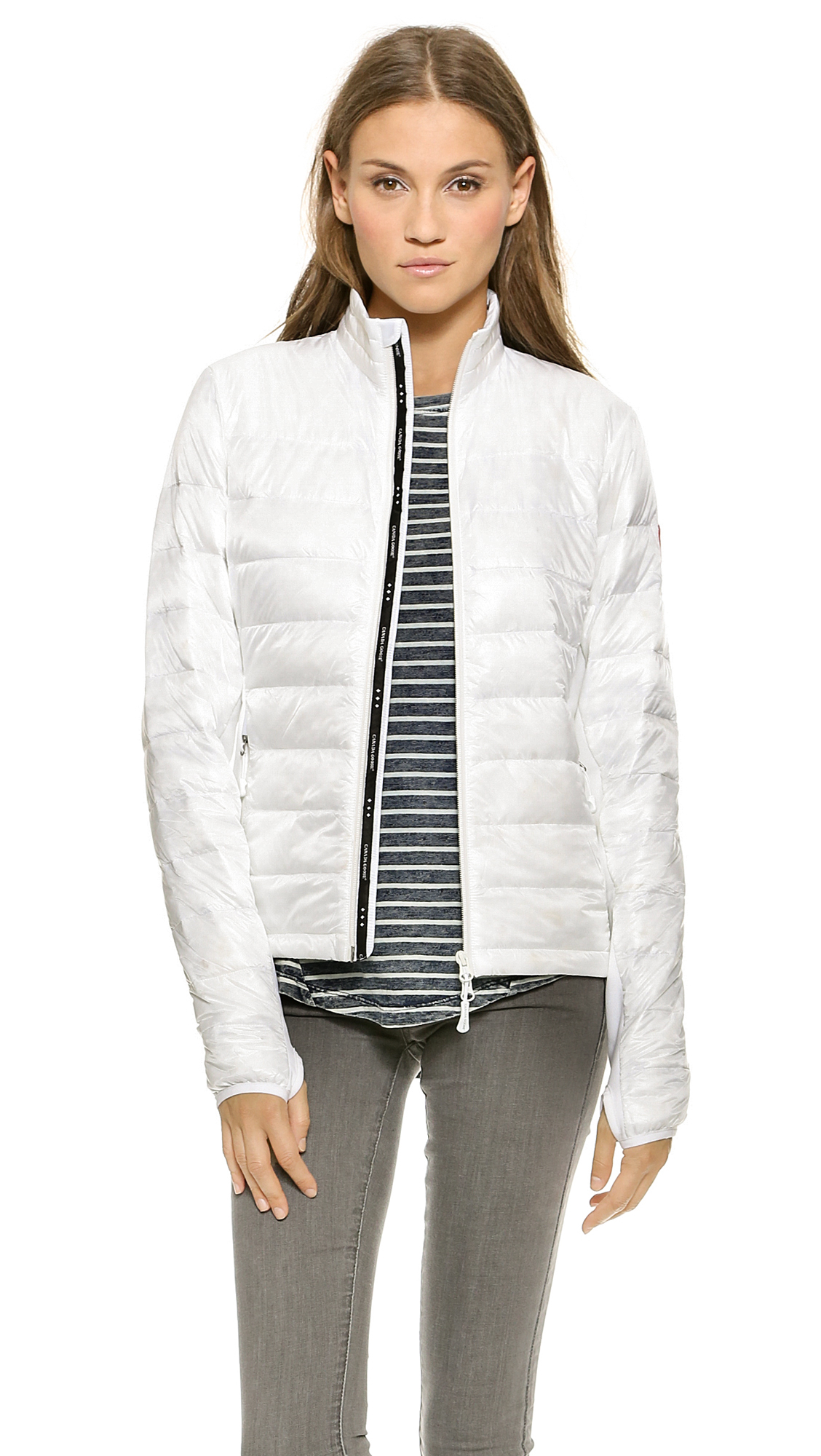 Canada Goose jackets sale shop - Canada goose Hybridge Lite Jacket in White | Lyst