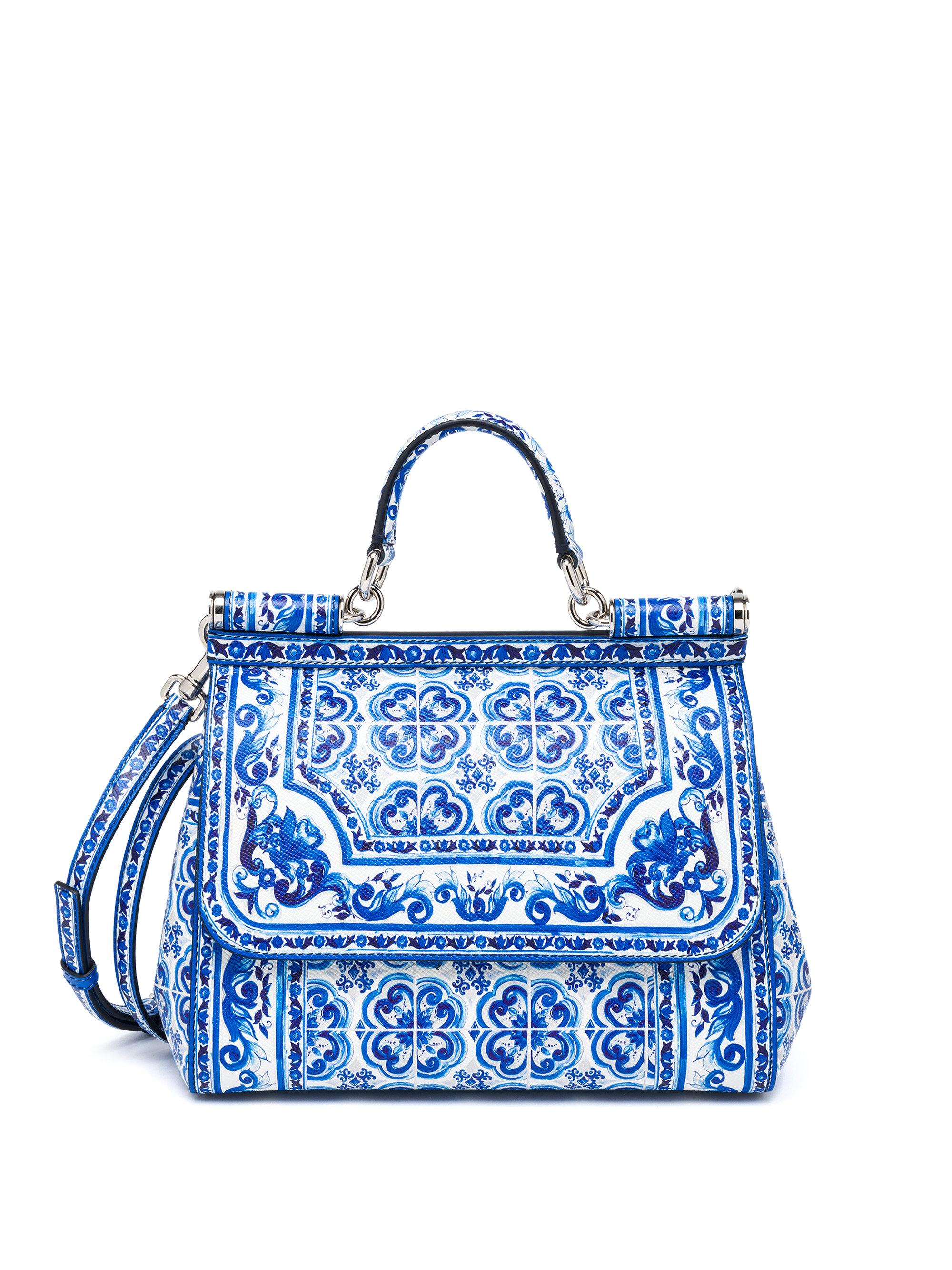 Dolce Amp Gabbana Sicily Medium Italian Tile Textured
