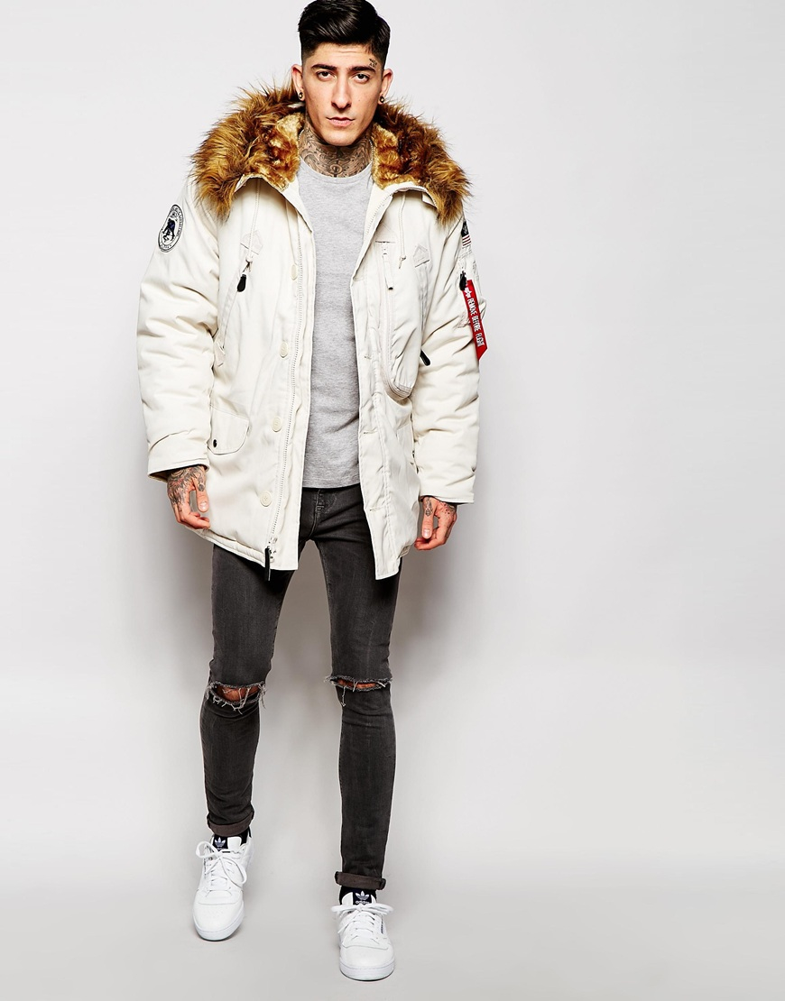 Parka polar alpha industries