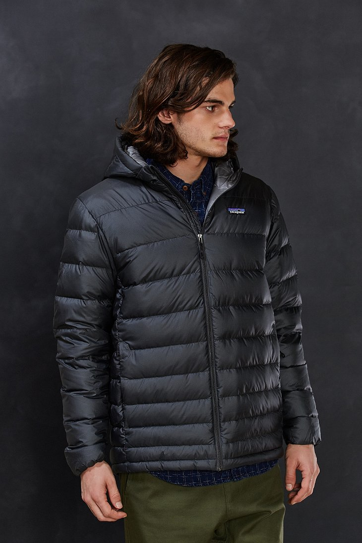 Lyst Patagonia Hi Loft Quilted Down Hooded Jacket In