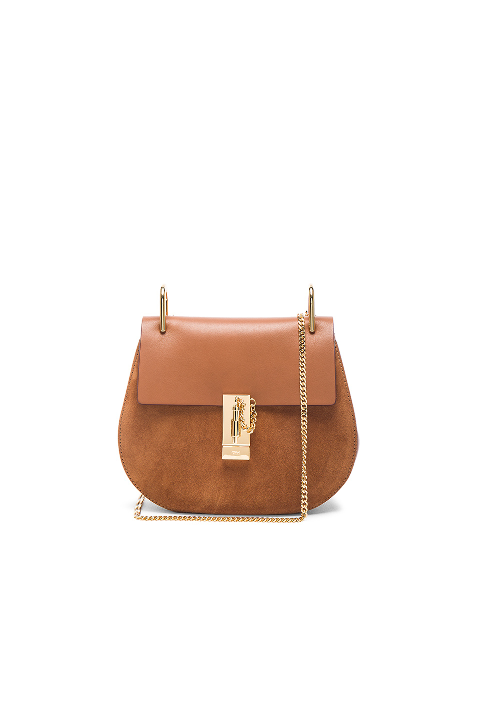 chloes bags - faye small bag in diamond embossed smooth calfskin