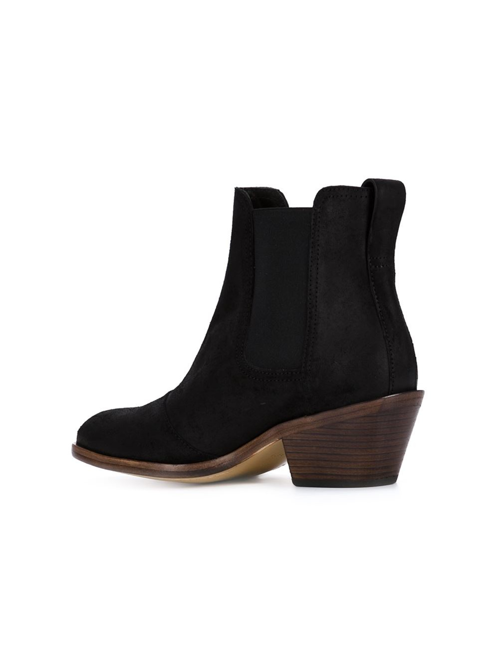 rag bone western style ankle boots in black lyst