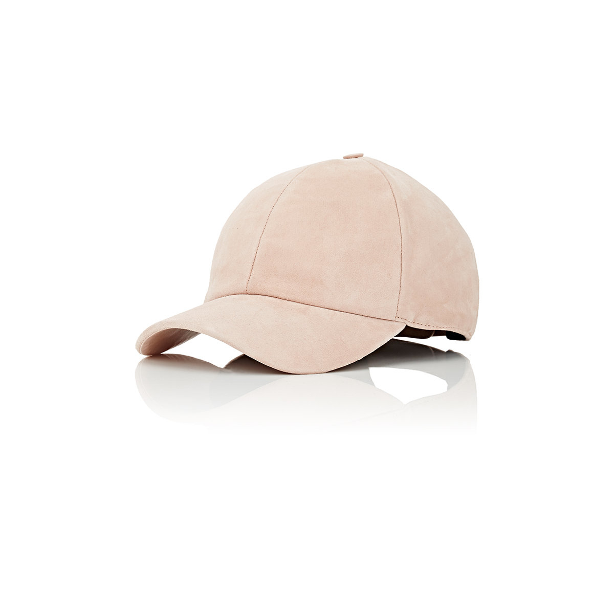Lyst - Vianel Men s Suede Baseball Cap in Natural for Men 06614a33b83