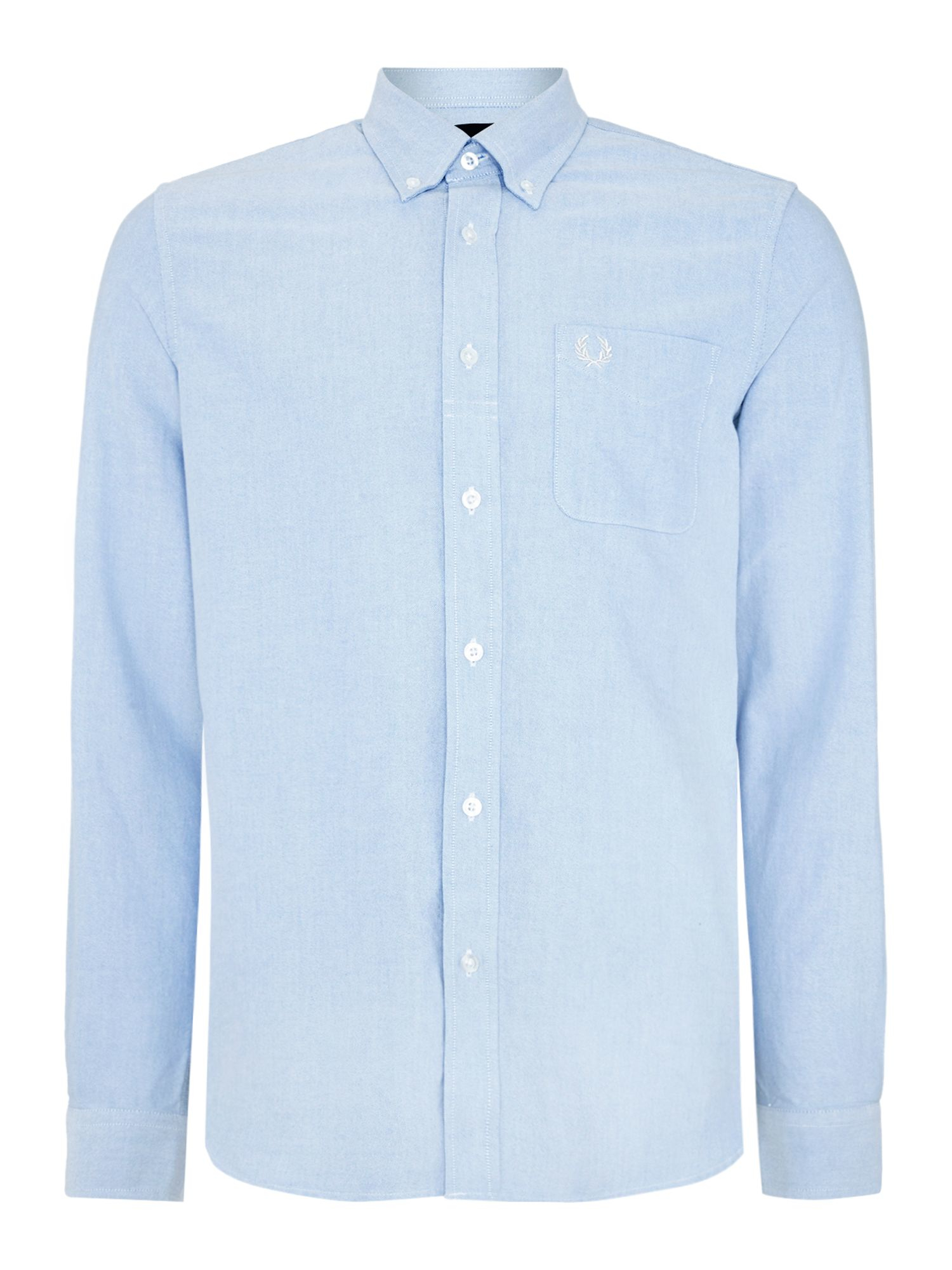 lyst fred perry classic long sleeve oxford button down