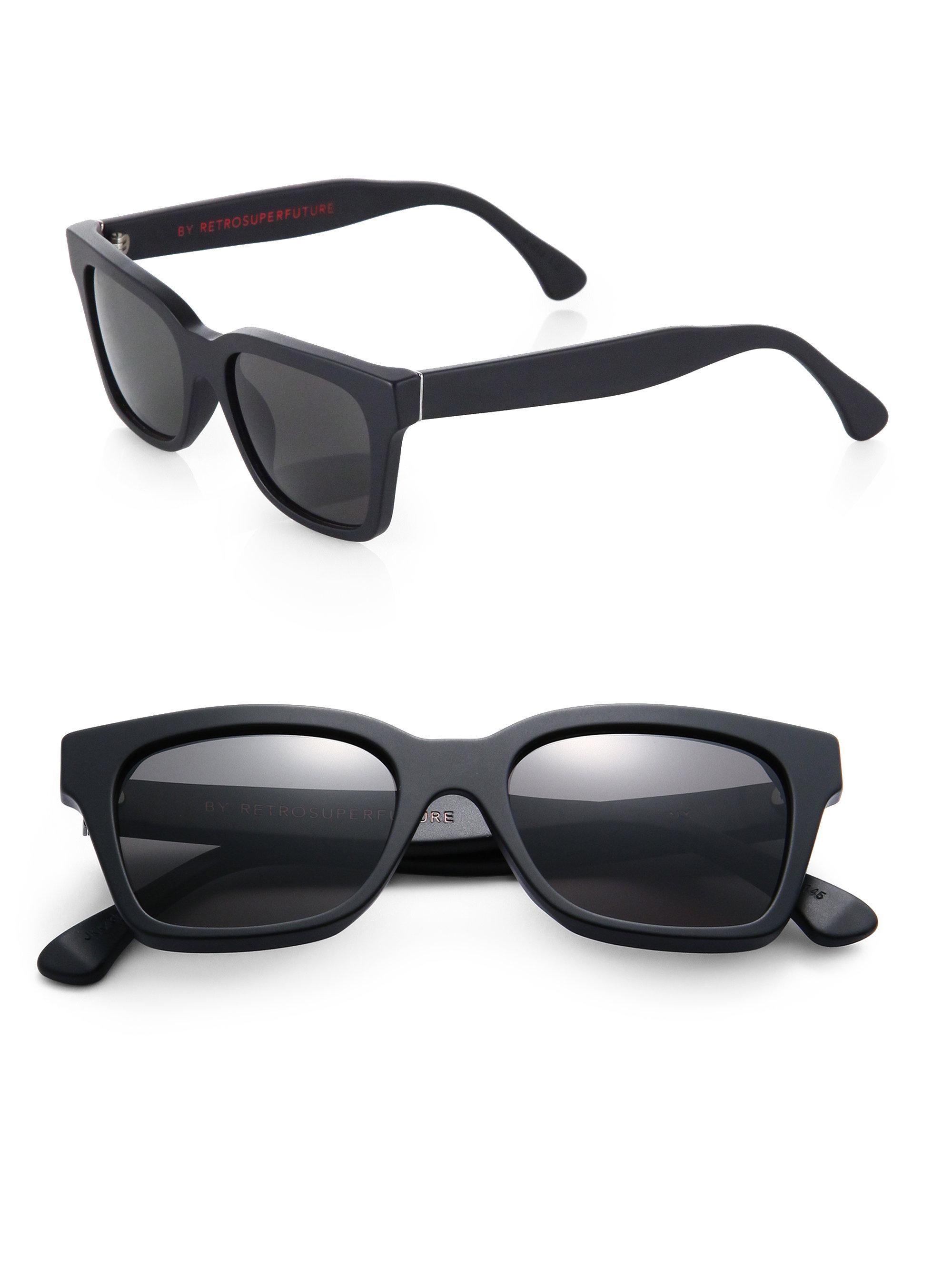 SUPER by Retrosuperfuture square sunglasses - Black Retro Superfuture lJa15vUNn