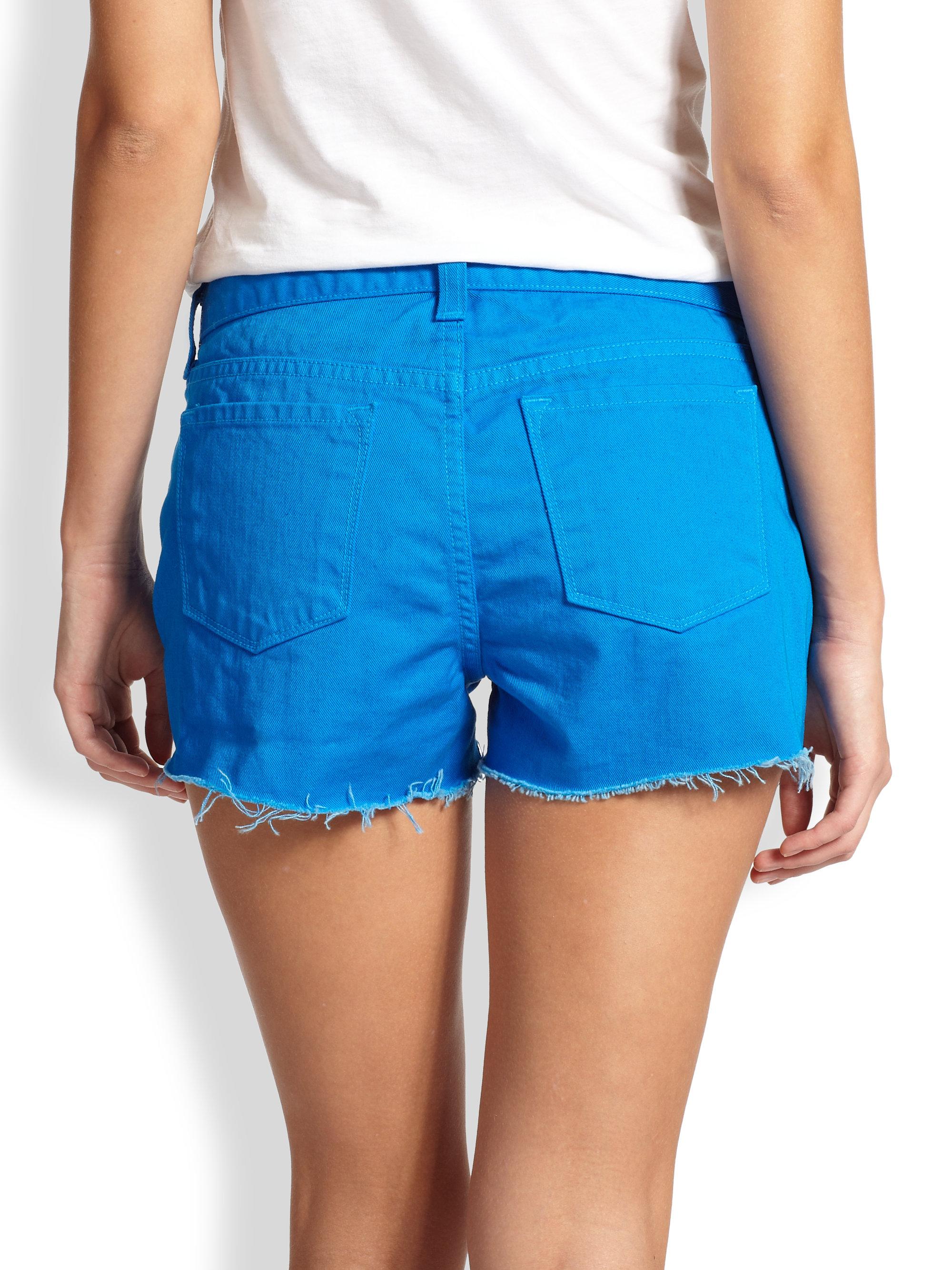 denim shorts - Blue J Brand TJwHNG3