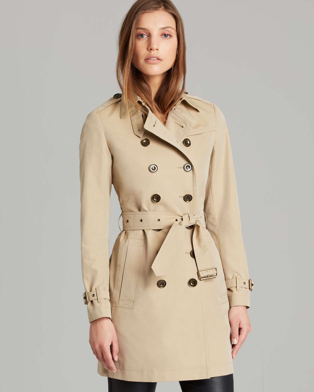 Gallery. Previously sold at: Bloomingdale's · Women's Burberry Brit Trench