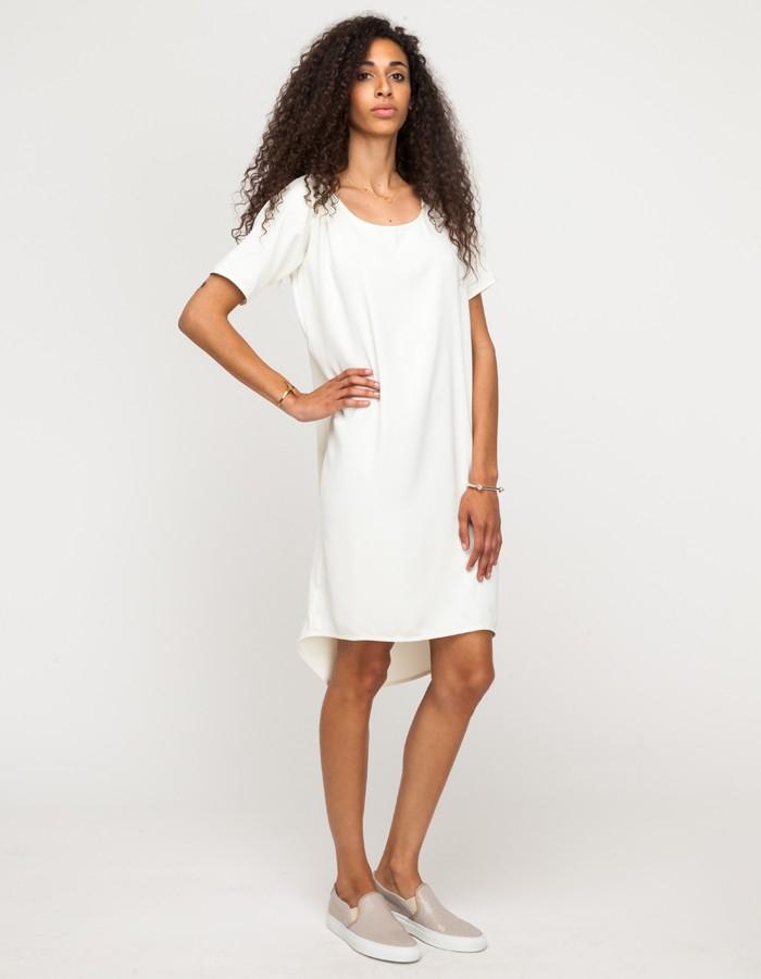 Just female Brazil Dress in White