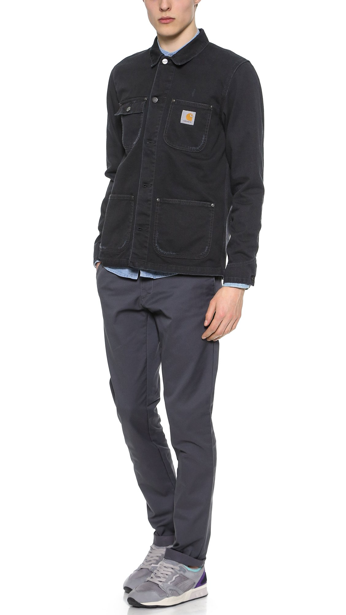 Carhartt chester jacket black