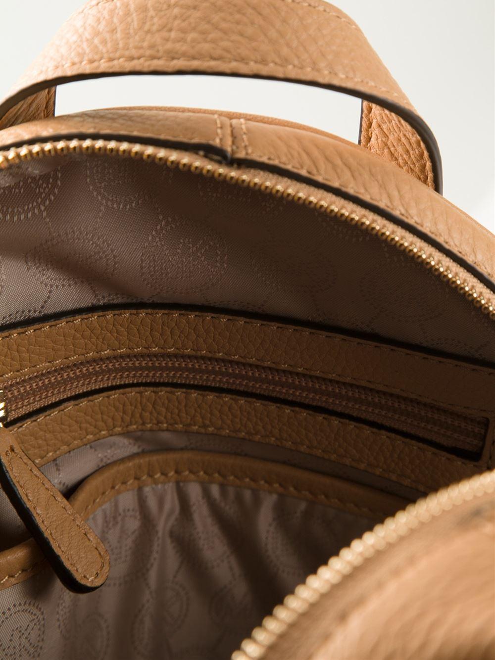 6af8ed911f48 Rhea Zip Medium Bicolor Leather Backpack- Fenix Toulouse Handball