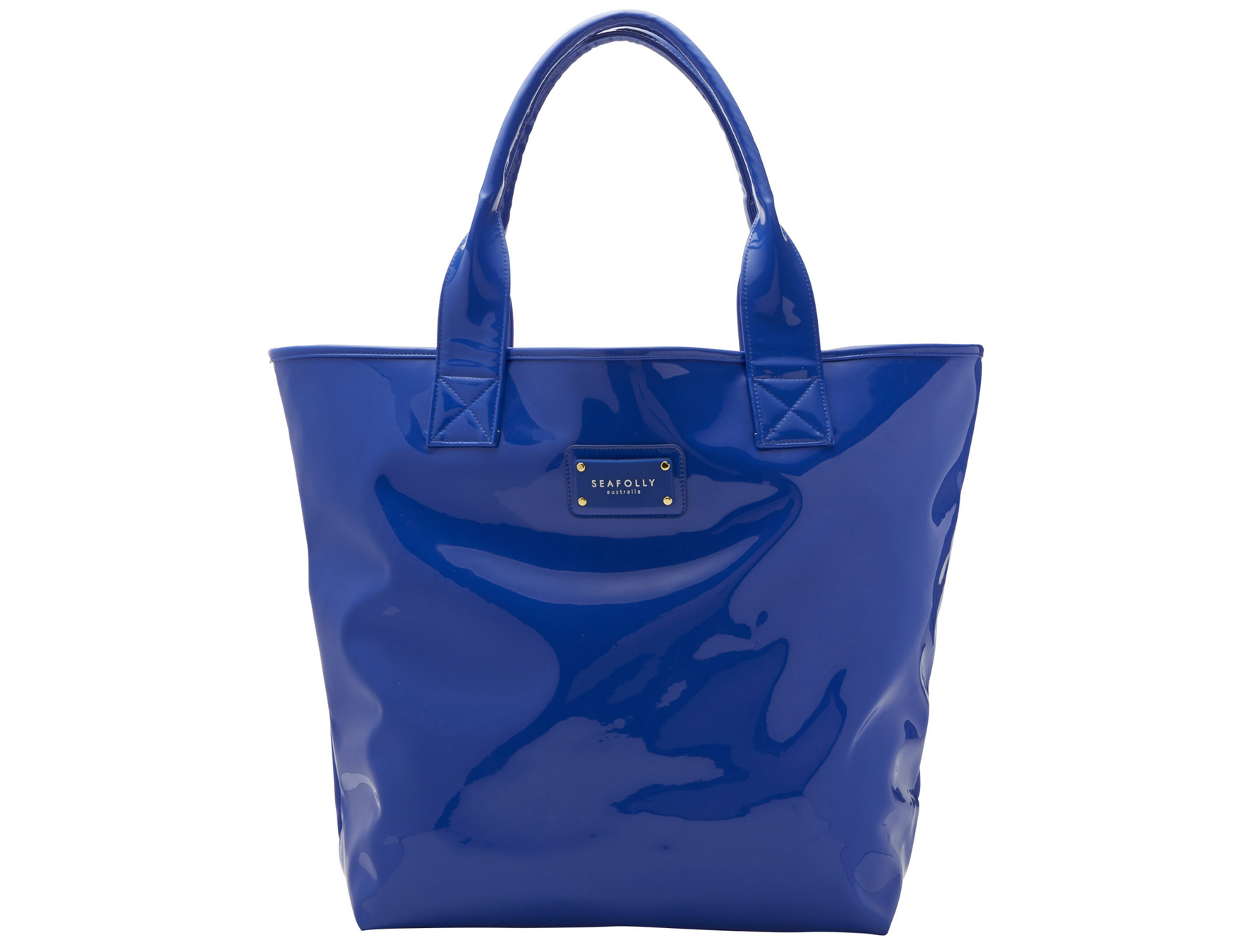 Seafolly Hit The Beach Tote Bag in Blue | Lyst