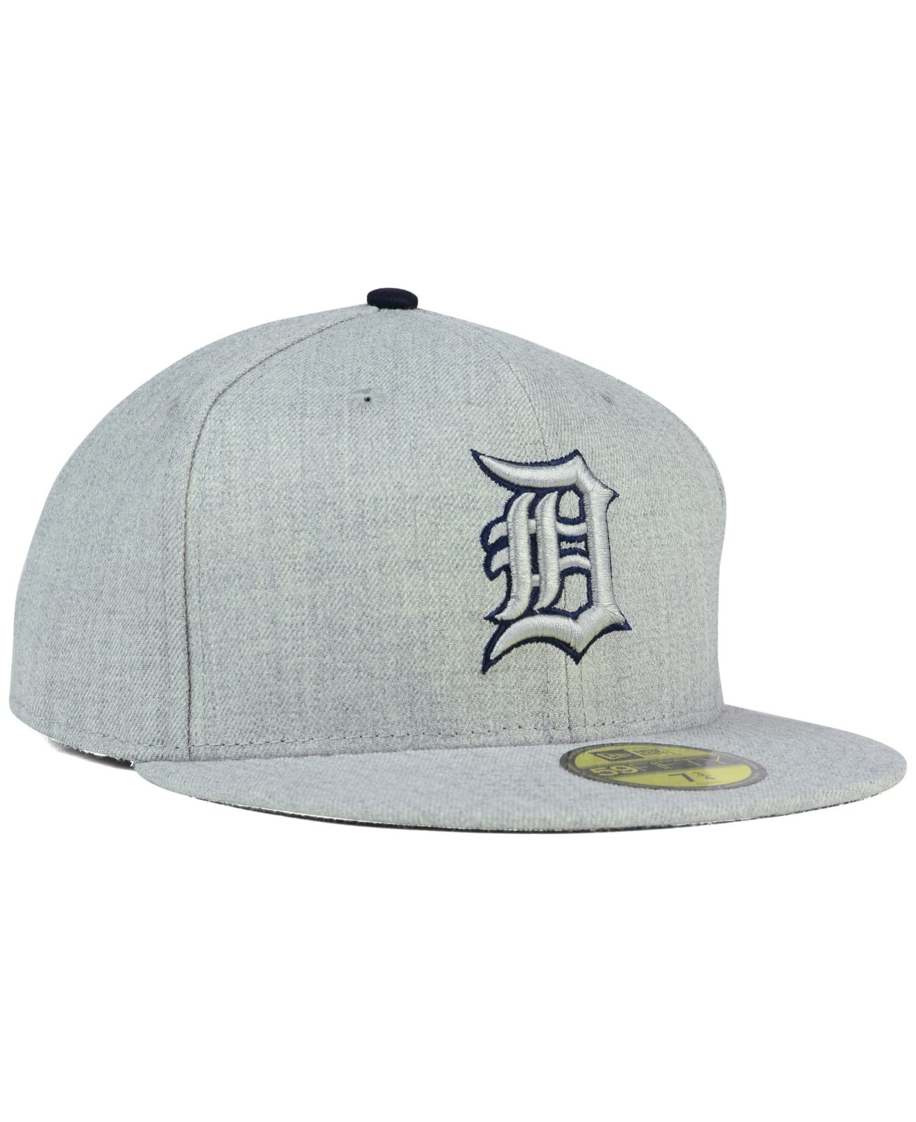 sports shoes ad0ab ce9f4 ... australia lyst ktz detroit tigers heather league basic 59fifty cap in  gray 2f6b0 0f968