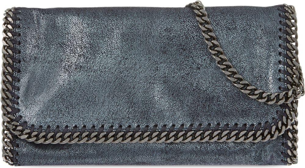 75a0000a32 Stella McCartney Falabella Chain Clutch Bag Bag - For Women in Blue ...