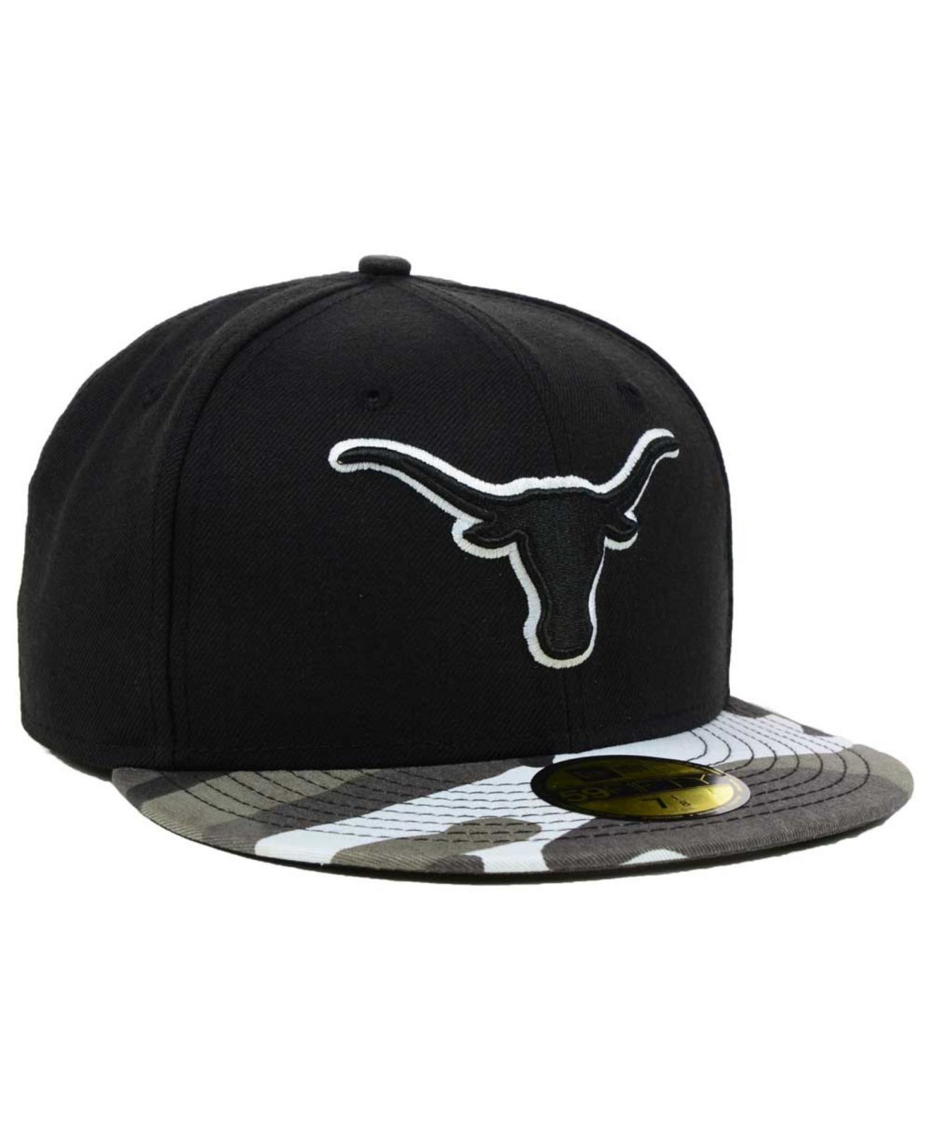 outlet store 6b7f9 7a896 france lyst ktz texas longhorns urban camo 59fifty cap in white for men  dc6f9 4e038