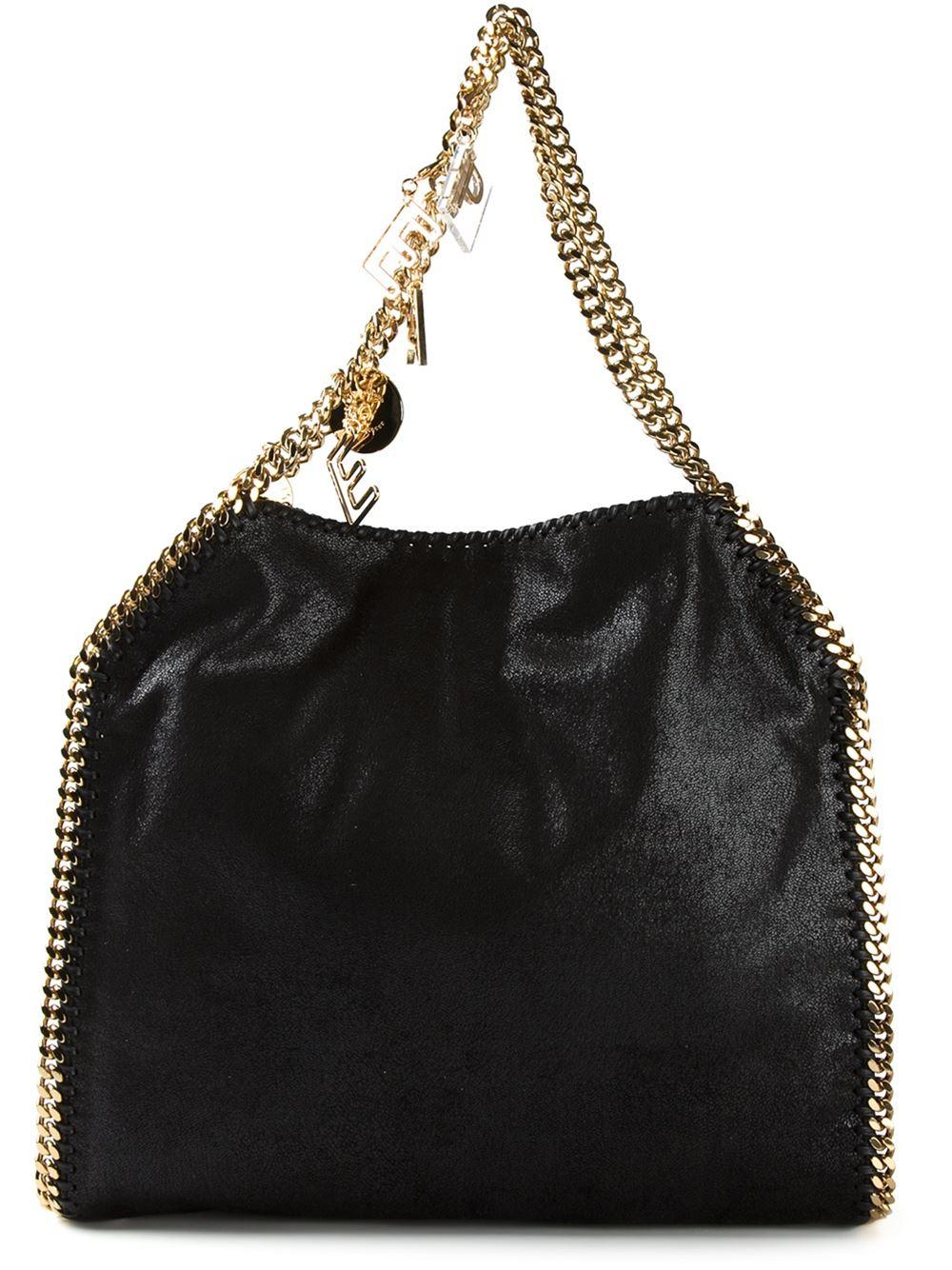423dc119237d Stella Mccartney Falabella Shoulder Bag Gold