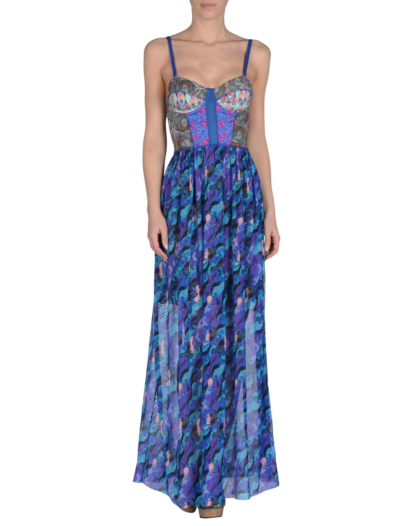Maaji Beach Dress in Blue | Lyst
