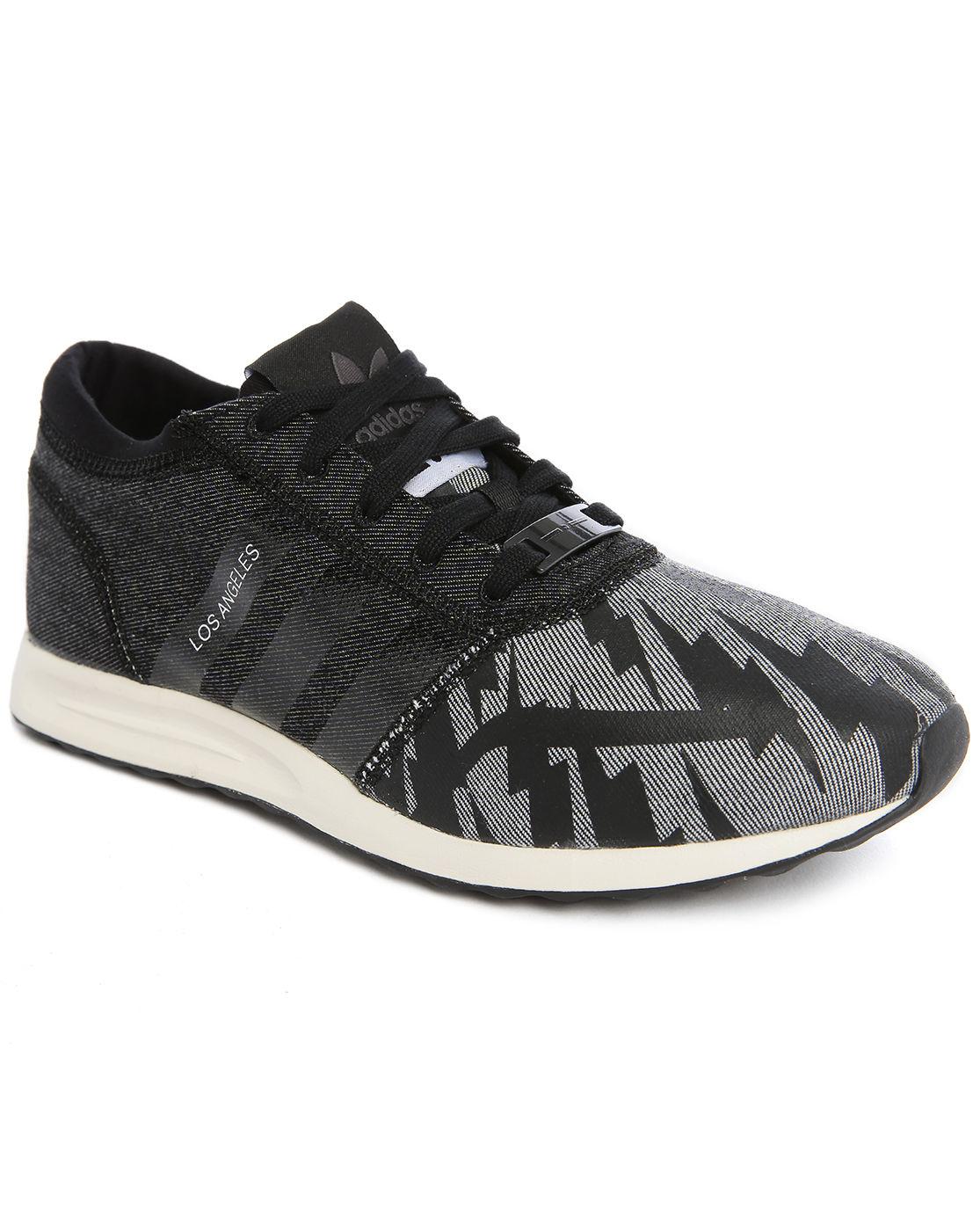 Adidas originals Los Angeles Lapo Elkann Weave Grey/black ...