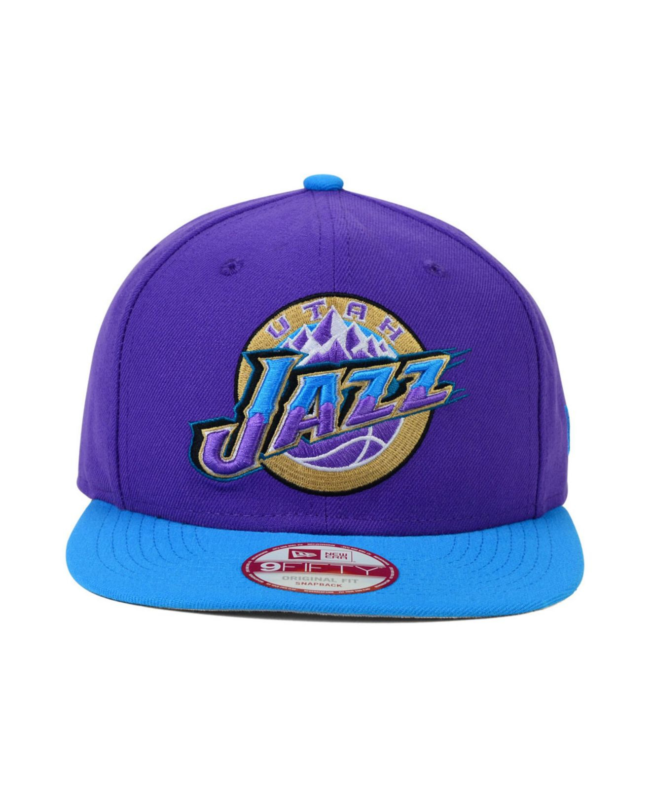 4f211bd9d Lyst - KTZ Utah Jazz B-Ball Buff 9Fifty Snapback Cap in Purple for Men