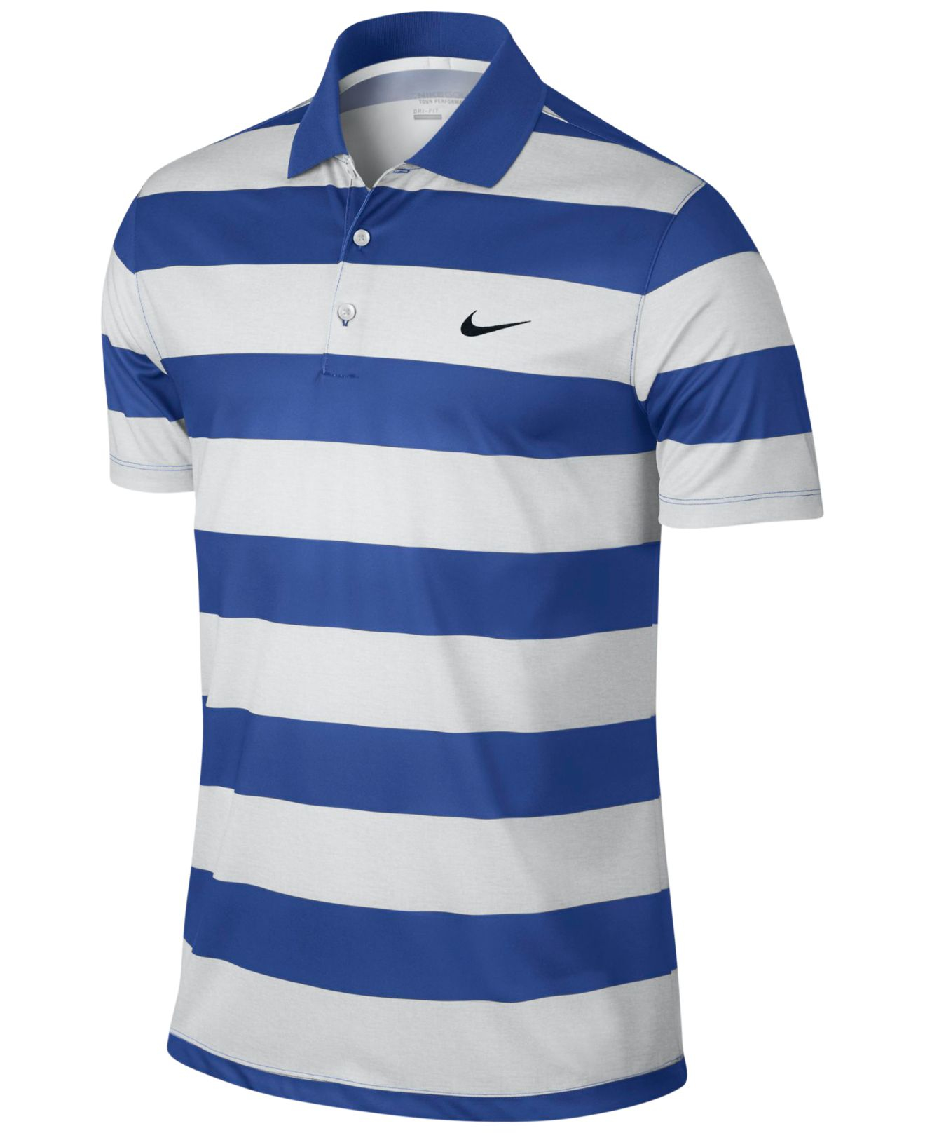 Lyst Nike Victory Bold Dri Fit Golf Polo In White For Men