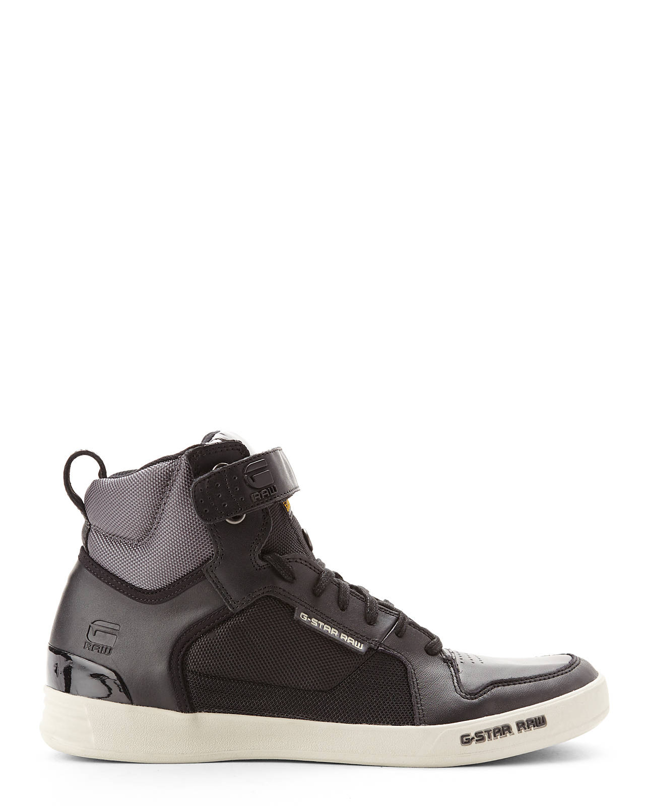 Lyst - G-Star Raw Black Grey Yard Bullion High-Top -7023