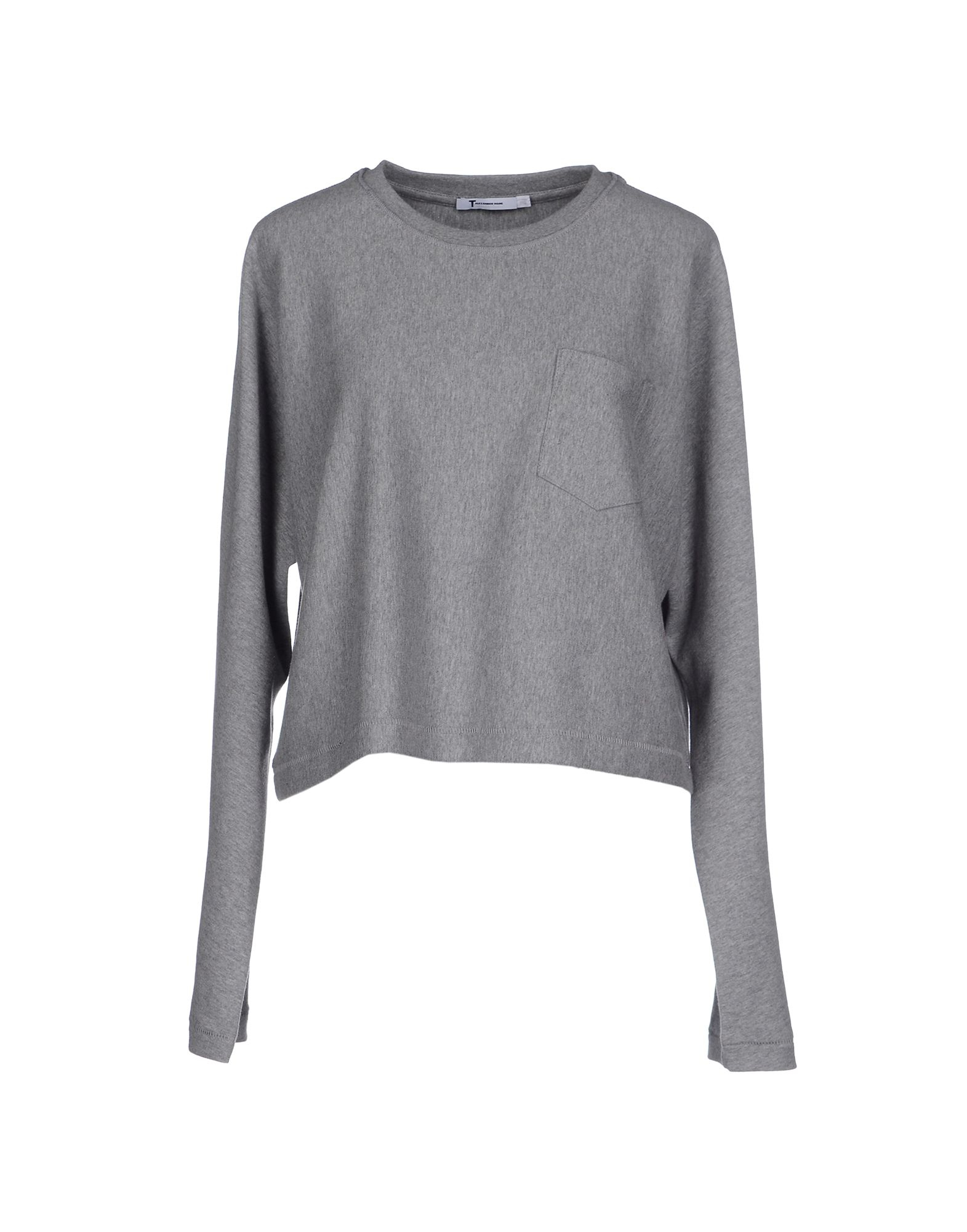 Lyst T By Alexander Wang T Shirt In Gray