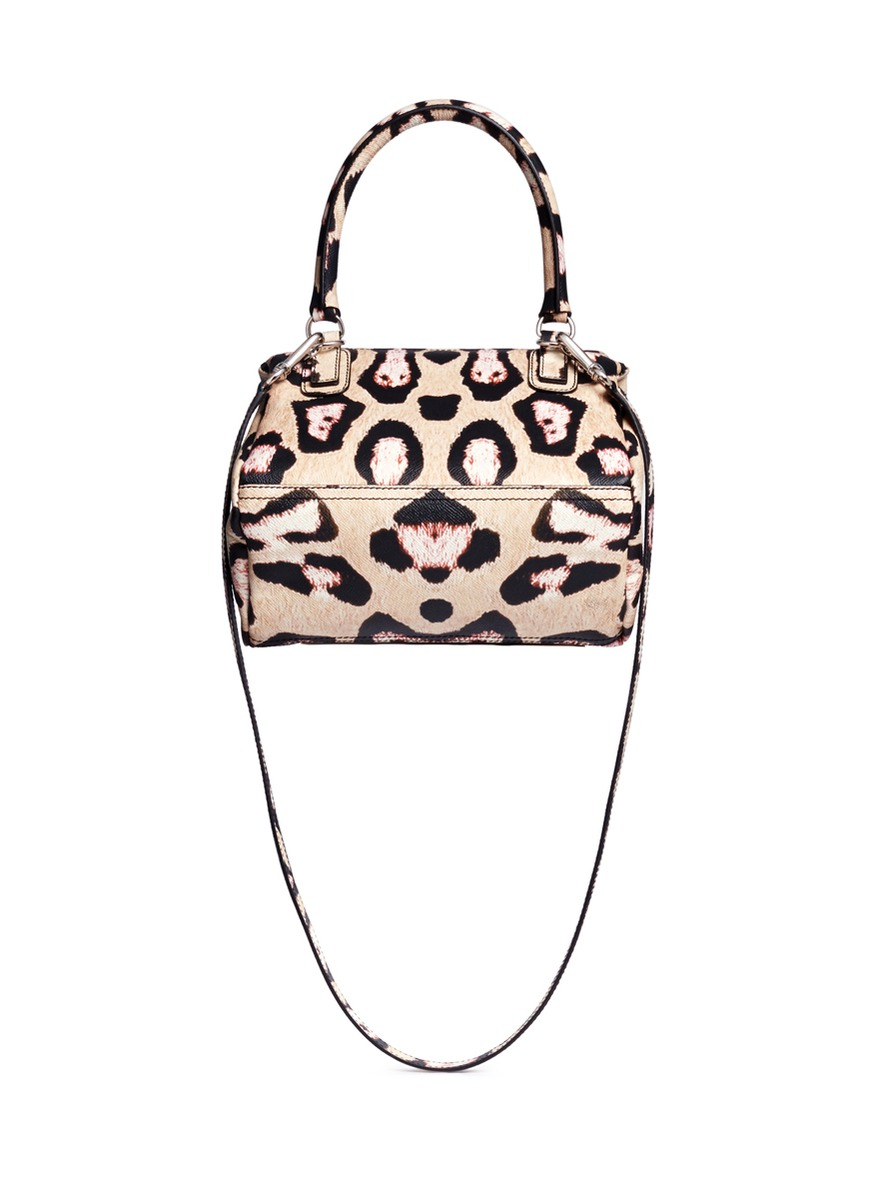 handbags printed featuring jaguar resort cut pink bag print givenchy mini colored leopard collection bow