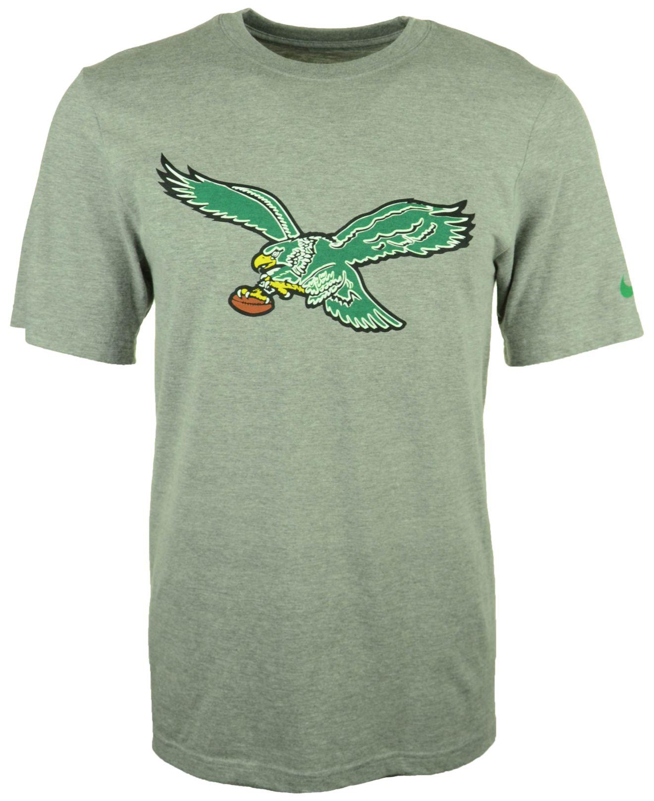 Lyst - Nike Men S Philadelphia Eagles Retro Logo T-Shirt in Gray for Men fbef95b4e