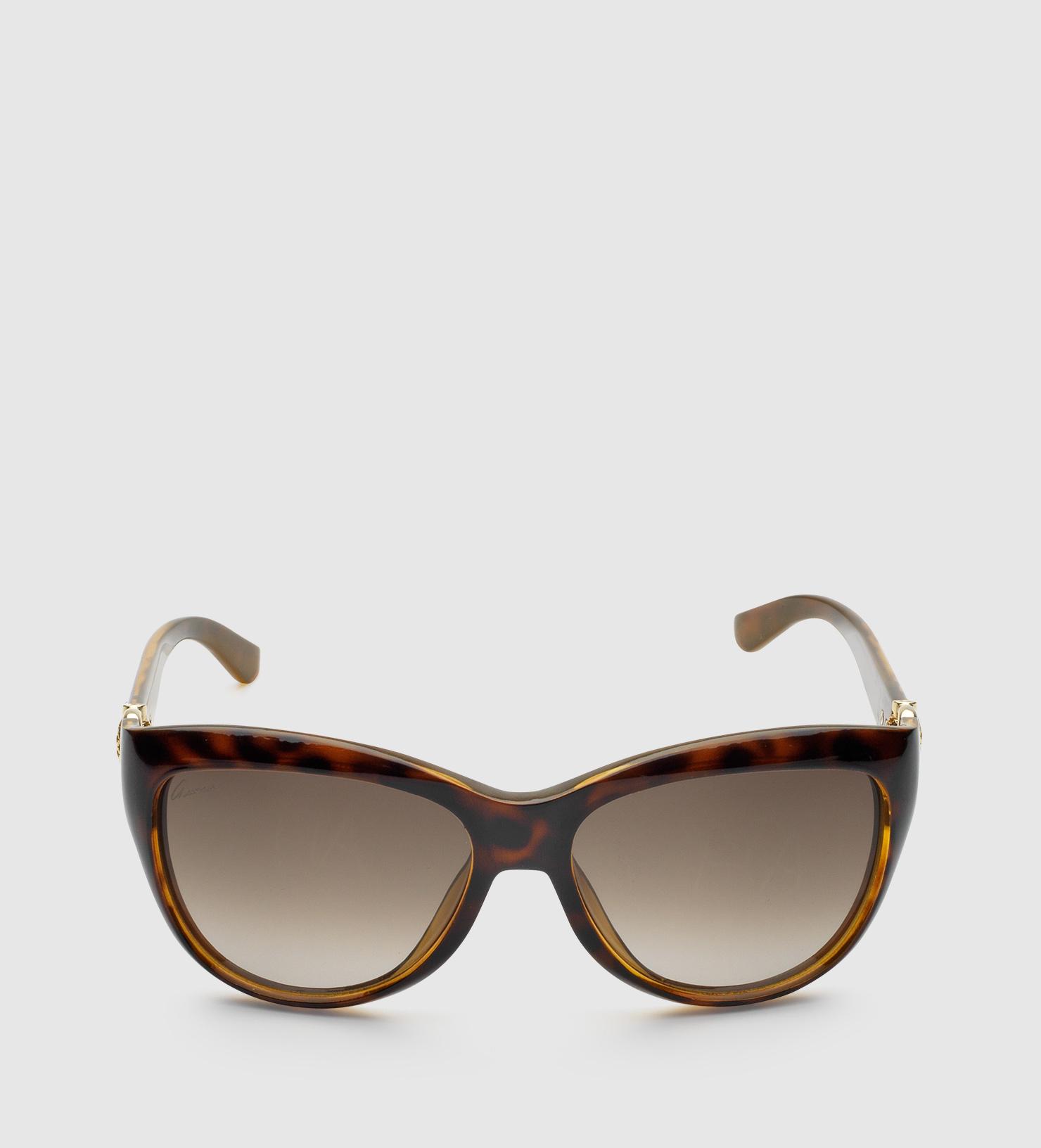 Prada Cat Eye Sunglasses Brown