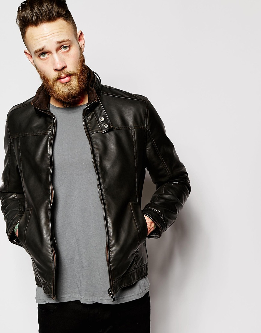 Barneys leather jacket