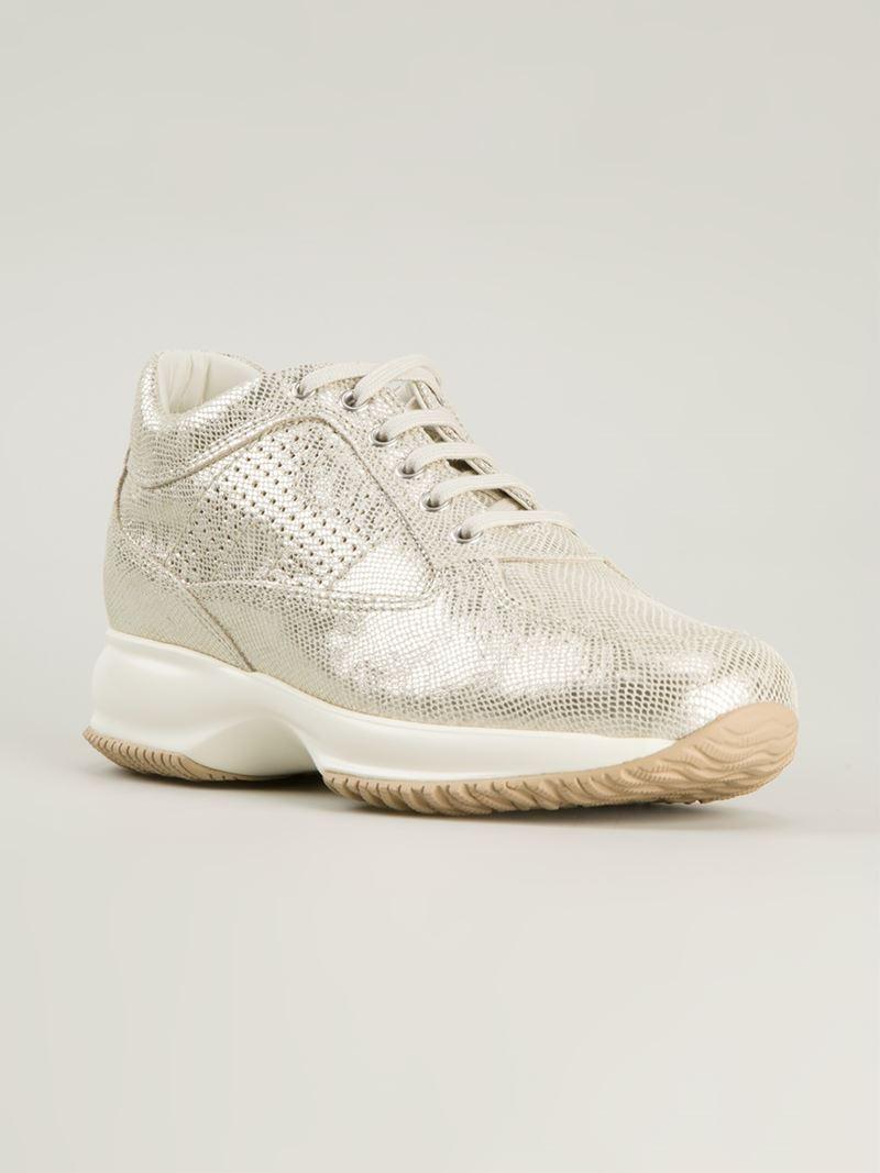 Hogan Chaussures De Sport Interactifs - Métalliques URSHHXWtH