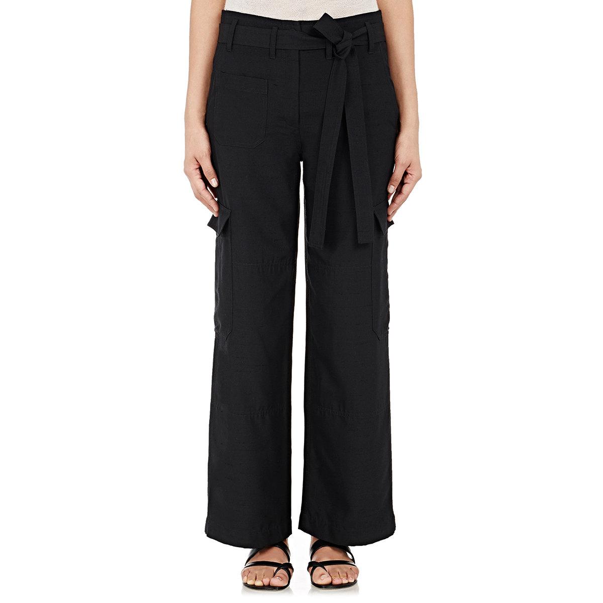 Wide Leg Cargo Pants - Pant Row