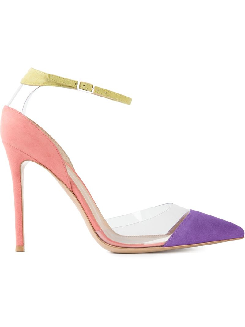pointed toe pumps - Pink & Purple Gianvito Rossi y8zgnw6w0
