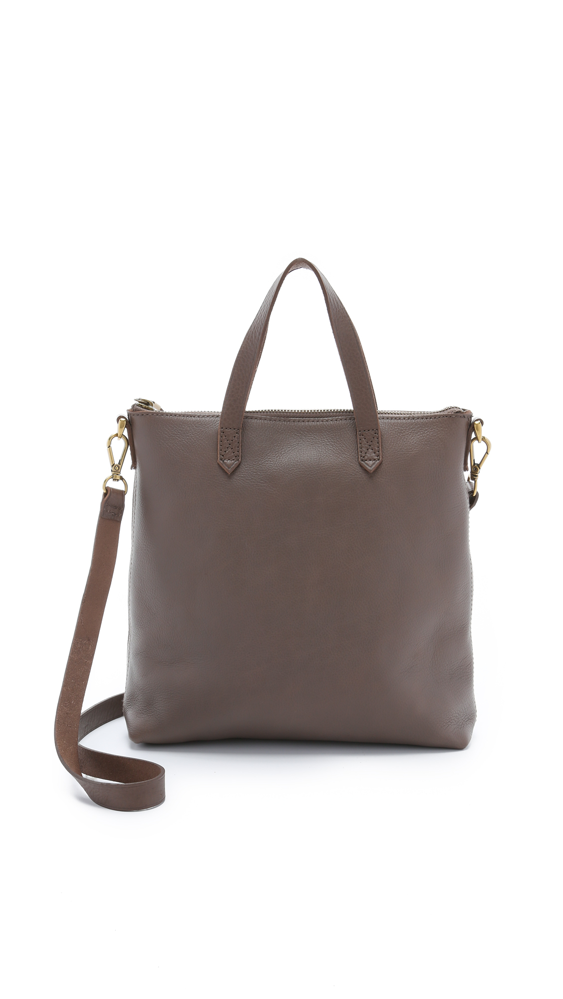 madewell the mini transport cross bag castle rock
