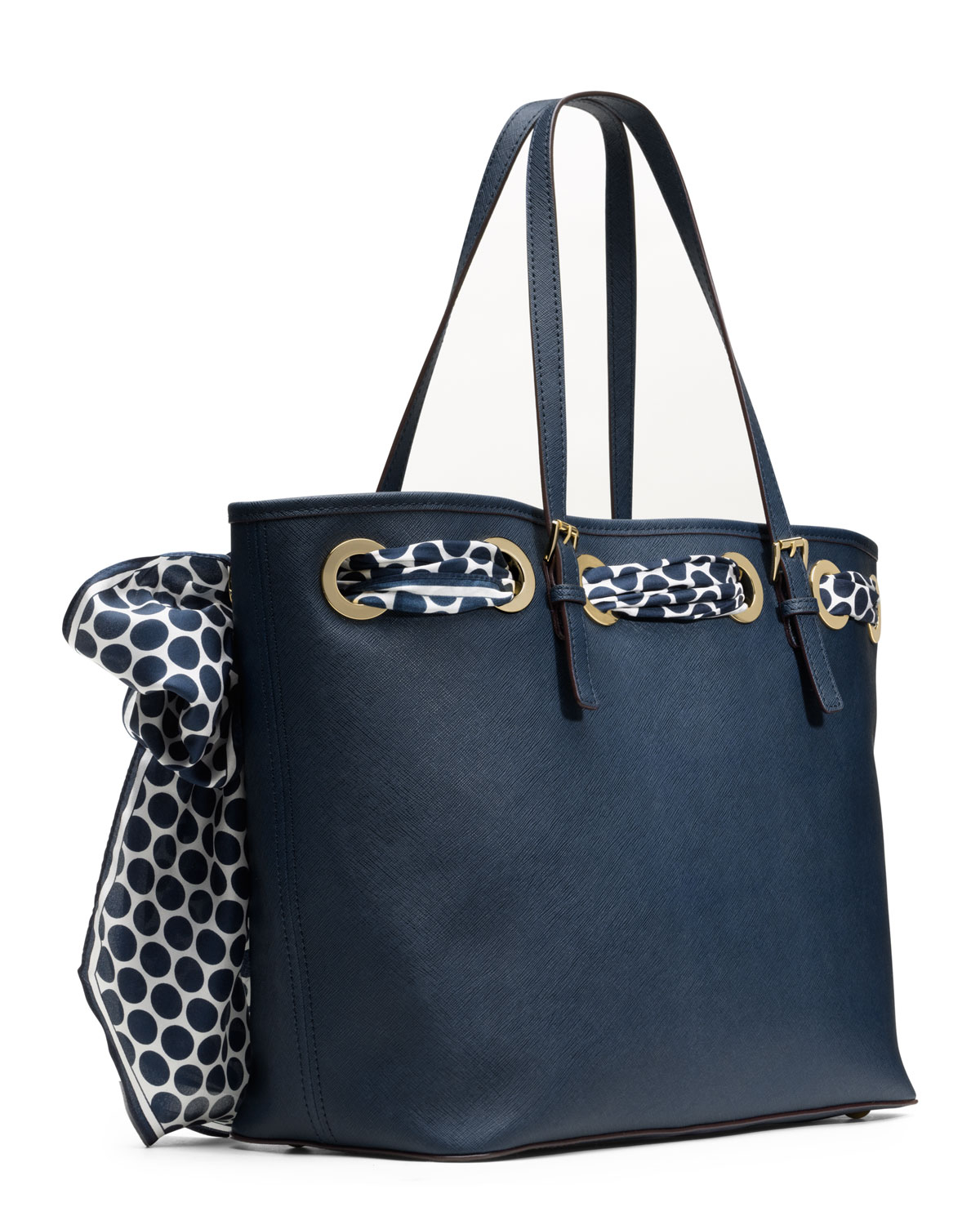 Fashion week Kors Michael scarf tote for woman
