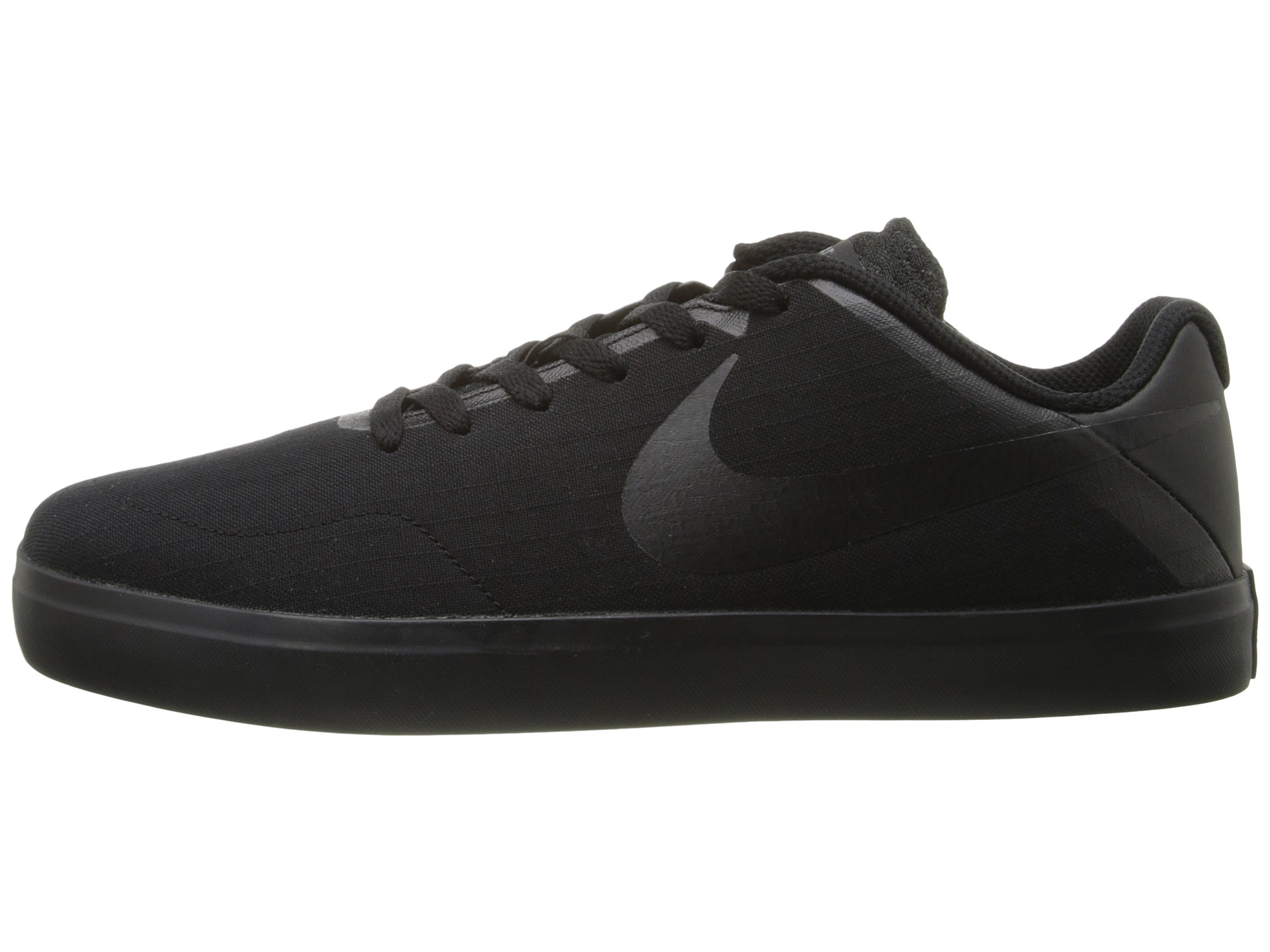 44b43801128a Mens Nike SB Paul Rodriguez CTD LR Canvas Obsidian Black Black White  Sneakers
