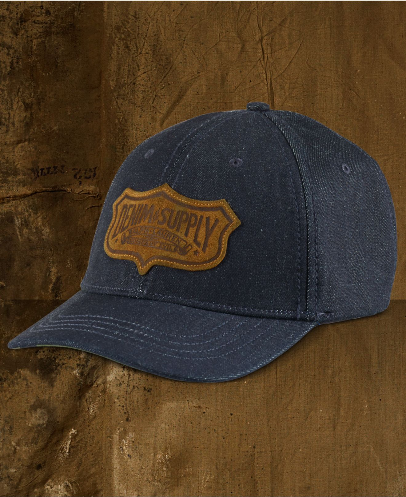 43821d21237 Lyst - Denim   Supply Ralph Lauren Men s Denim Baseball Cap in Blue ...