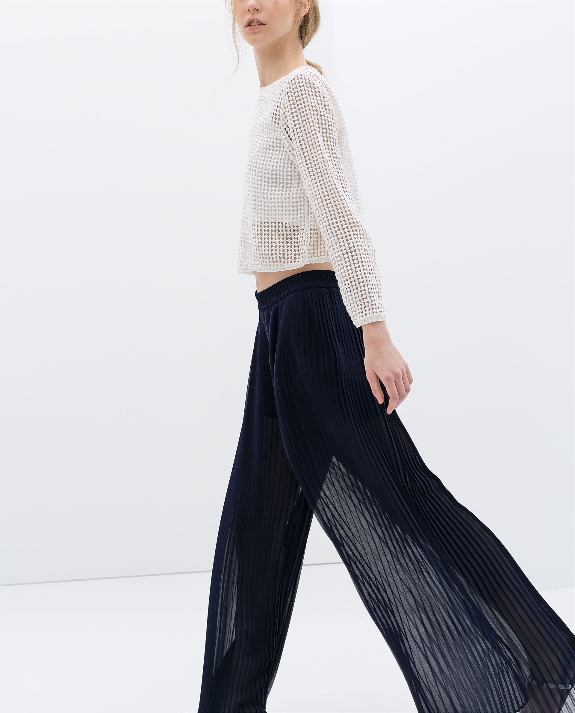 17e6b760 Zara Pleated Pants | Pant So