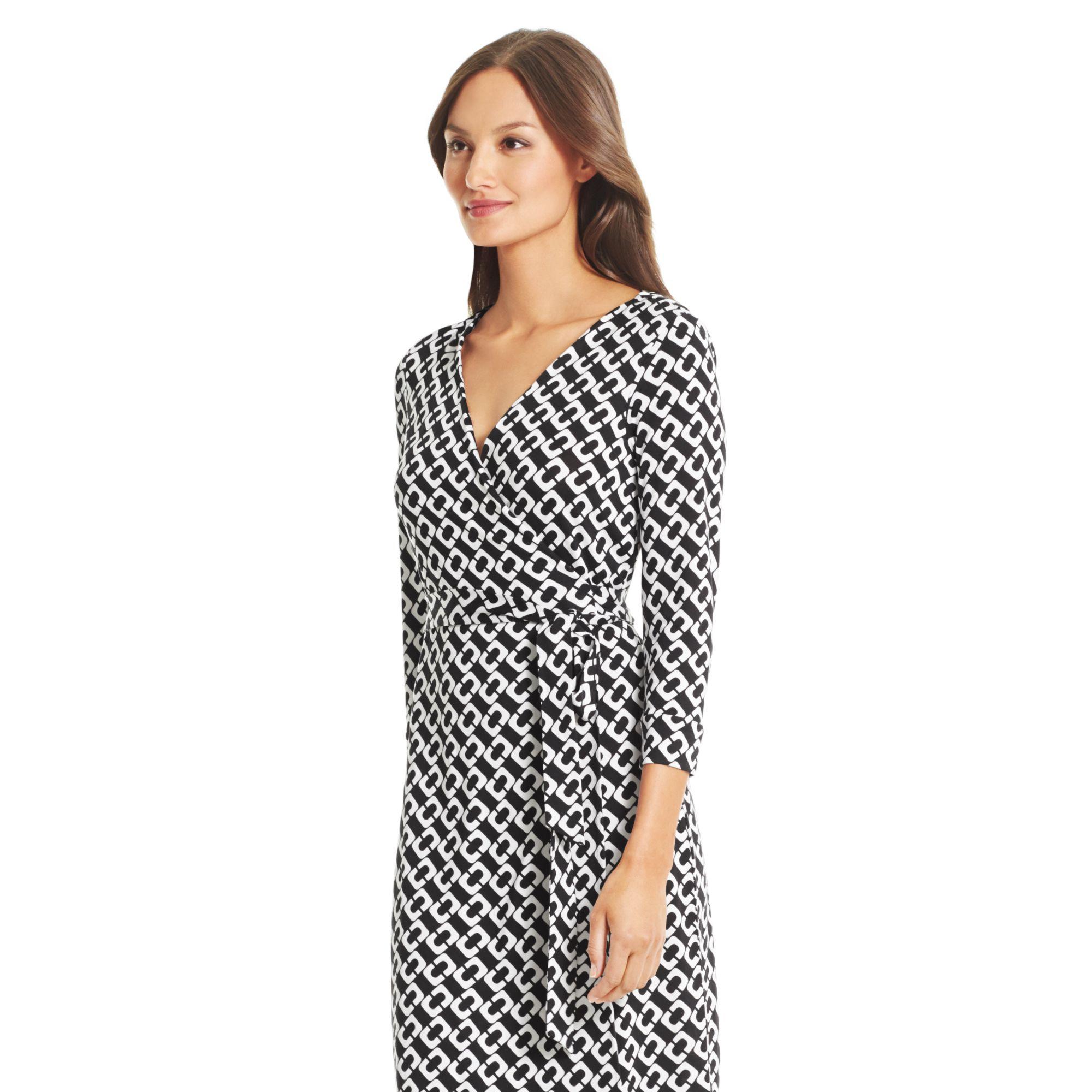 Diane Von Furstenberg New Julian Two Silk Jersey Wrap