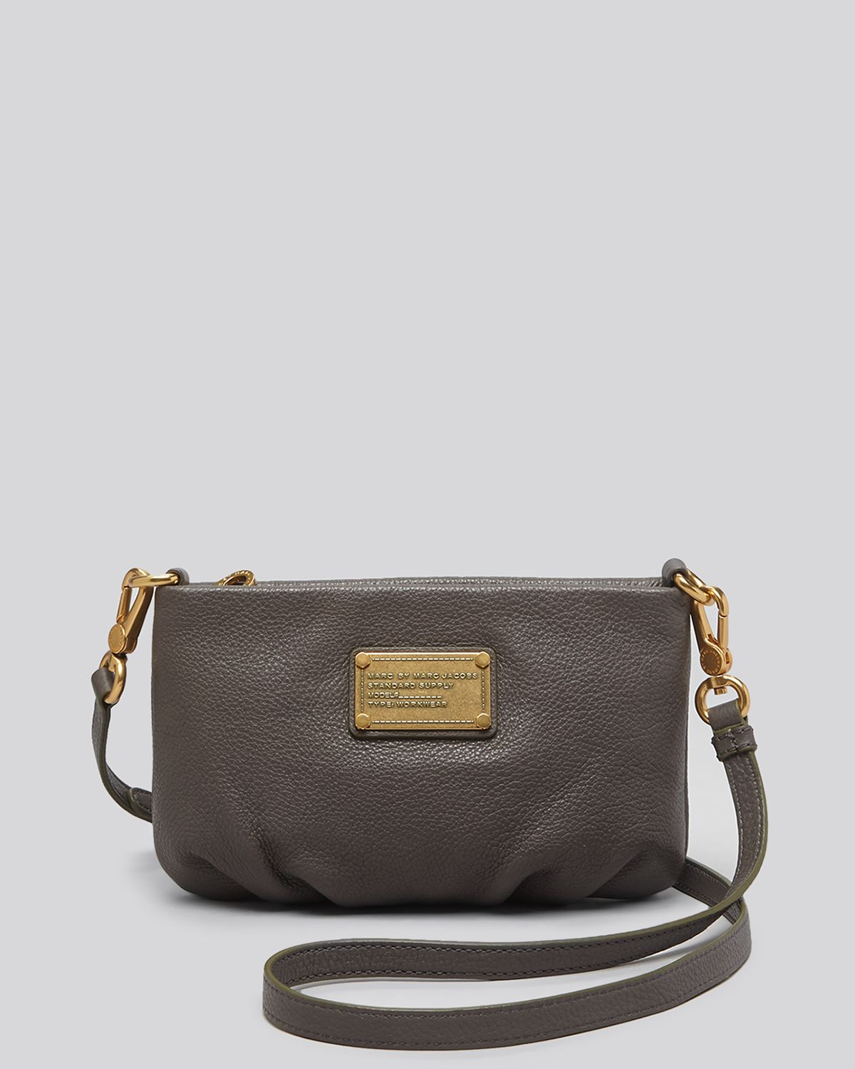 a072d1031d12 Marc By Marc Jacobs Crossbody - Classic Q Percy in Gray - Lyst
