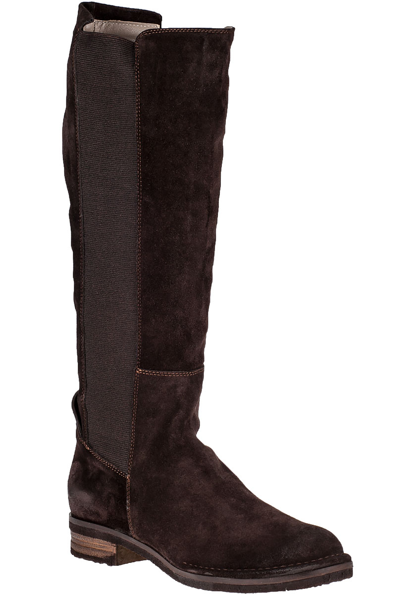 alberto fermani belluno boot brown suede in brown lyst