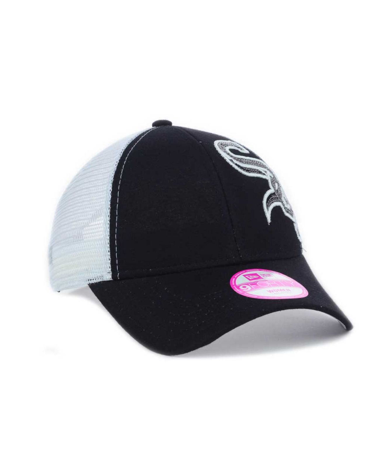 Lyst - KTZ Women S Chicago White Sox Mlb Sequin Shimmer 9Forty Cap ... 5a970276c636