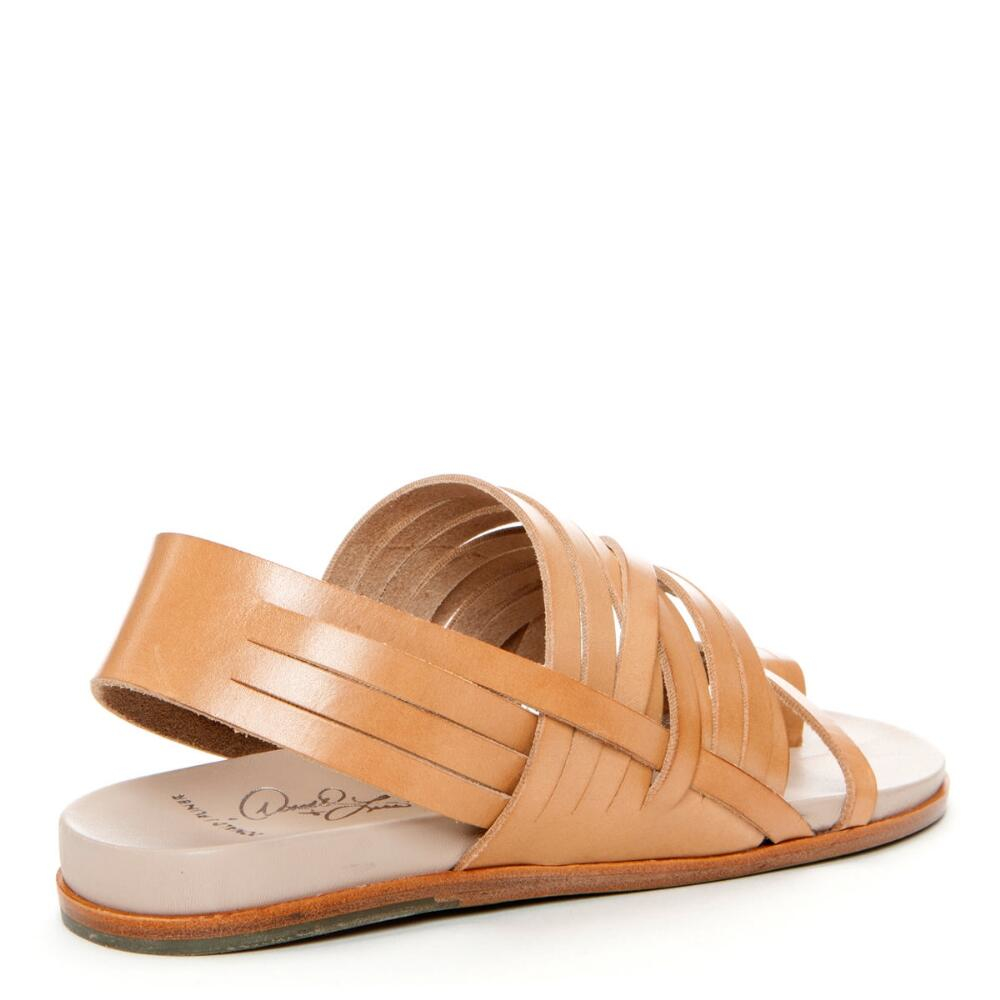 Donald J Pliner Signature Strappy Leather Sandal In