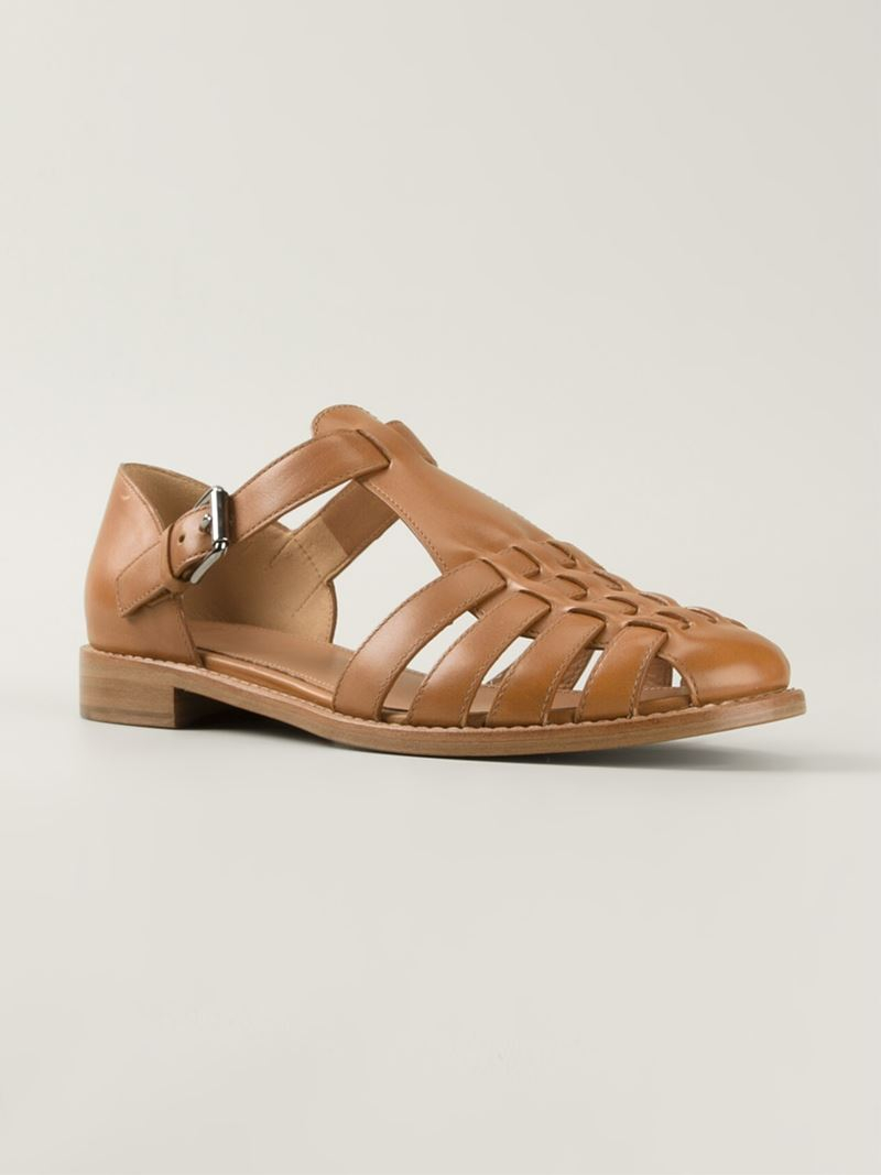 Leather sandals Churchs VOvaJ
