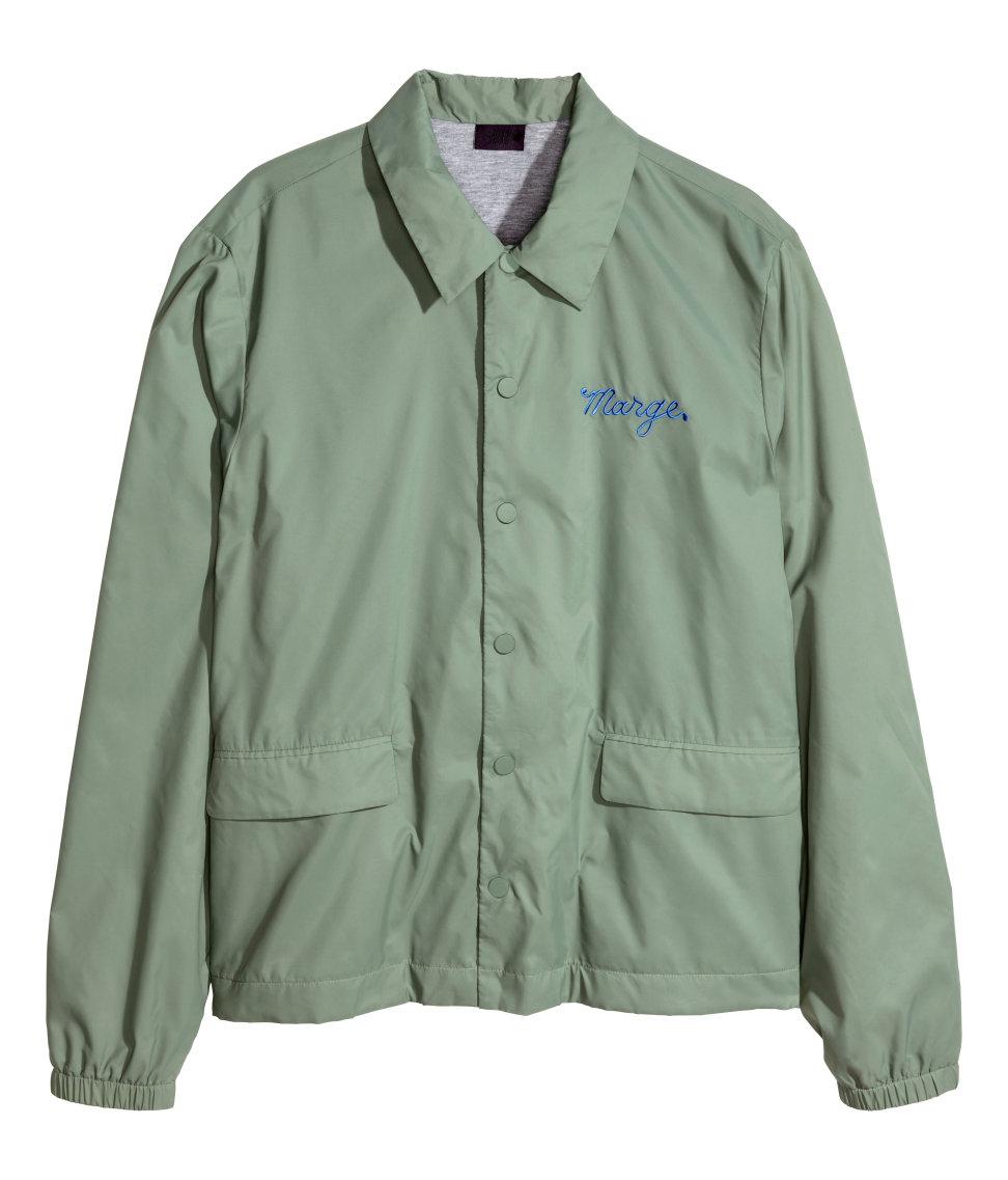 Green Nylon Jacket - Pl Jackets