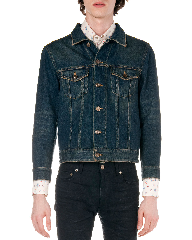 Mens Blue Jean Shorts