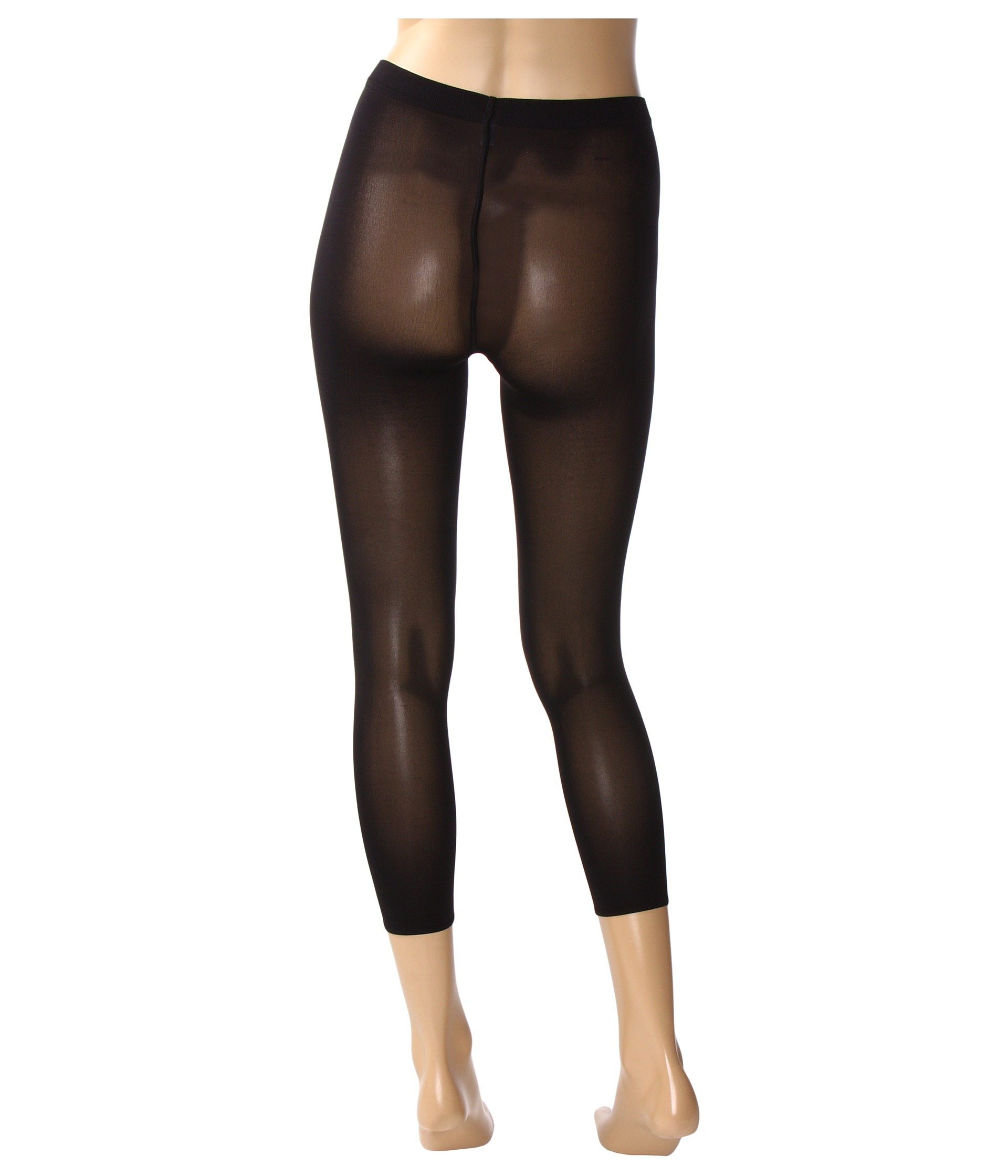 Wolford Velvet 66 Capri Leggings in Black | Lyst